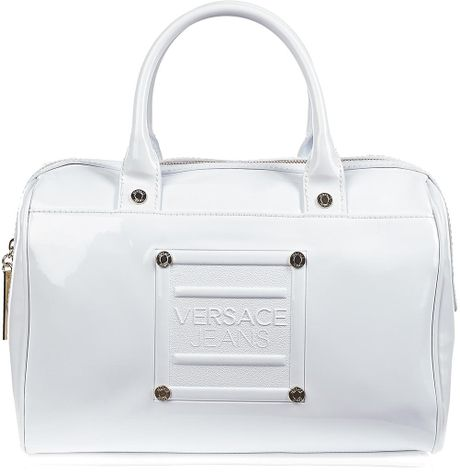 Versace Jeans Couture Bag White in White - Lyst