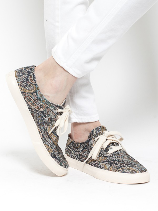 Ymc Liberty Lace Up Paisley in Multicolor | Lyst