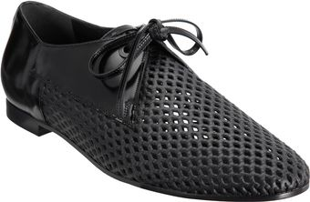 Balenciaga Perforated Derby - Lyst