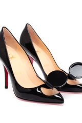 Christian Louboutin Madame Mouse Patent Leather Pumps