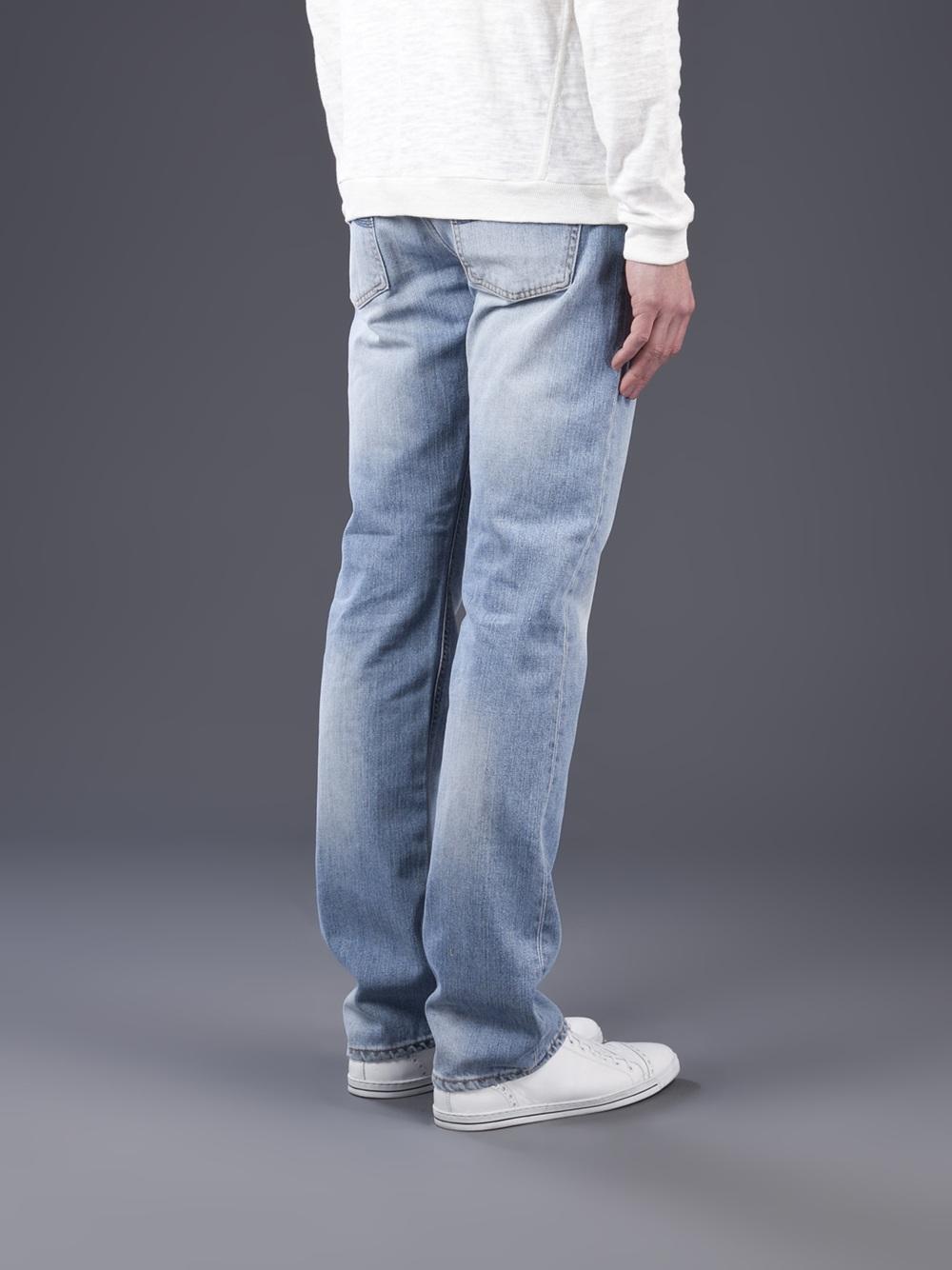 Nudie Jeans Average Joe Jean in Navy (Blue) for Men