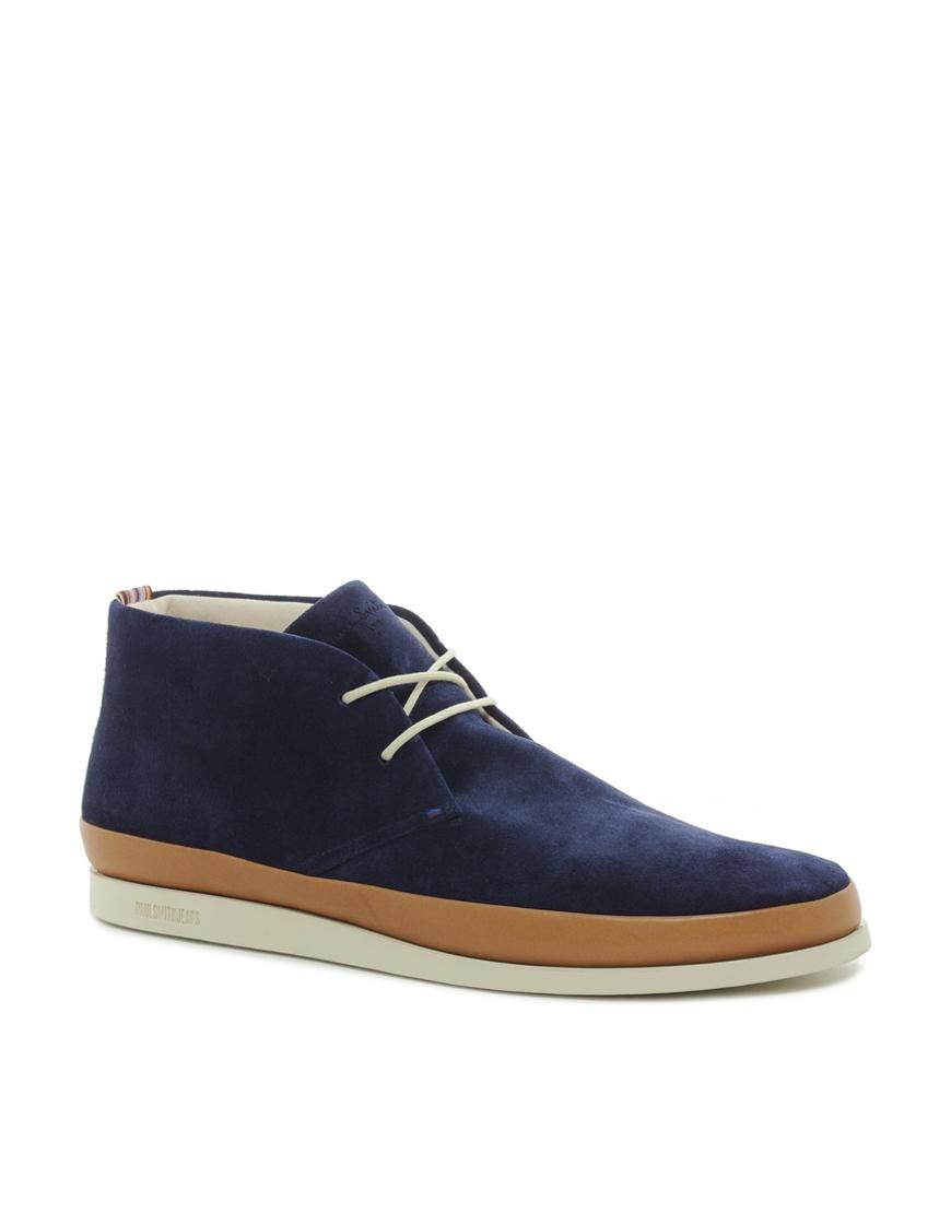797e42351c2 Paul Smith Blue Jeans Loomis Chukka Boots for men