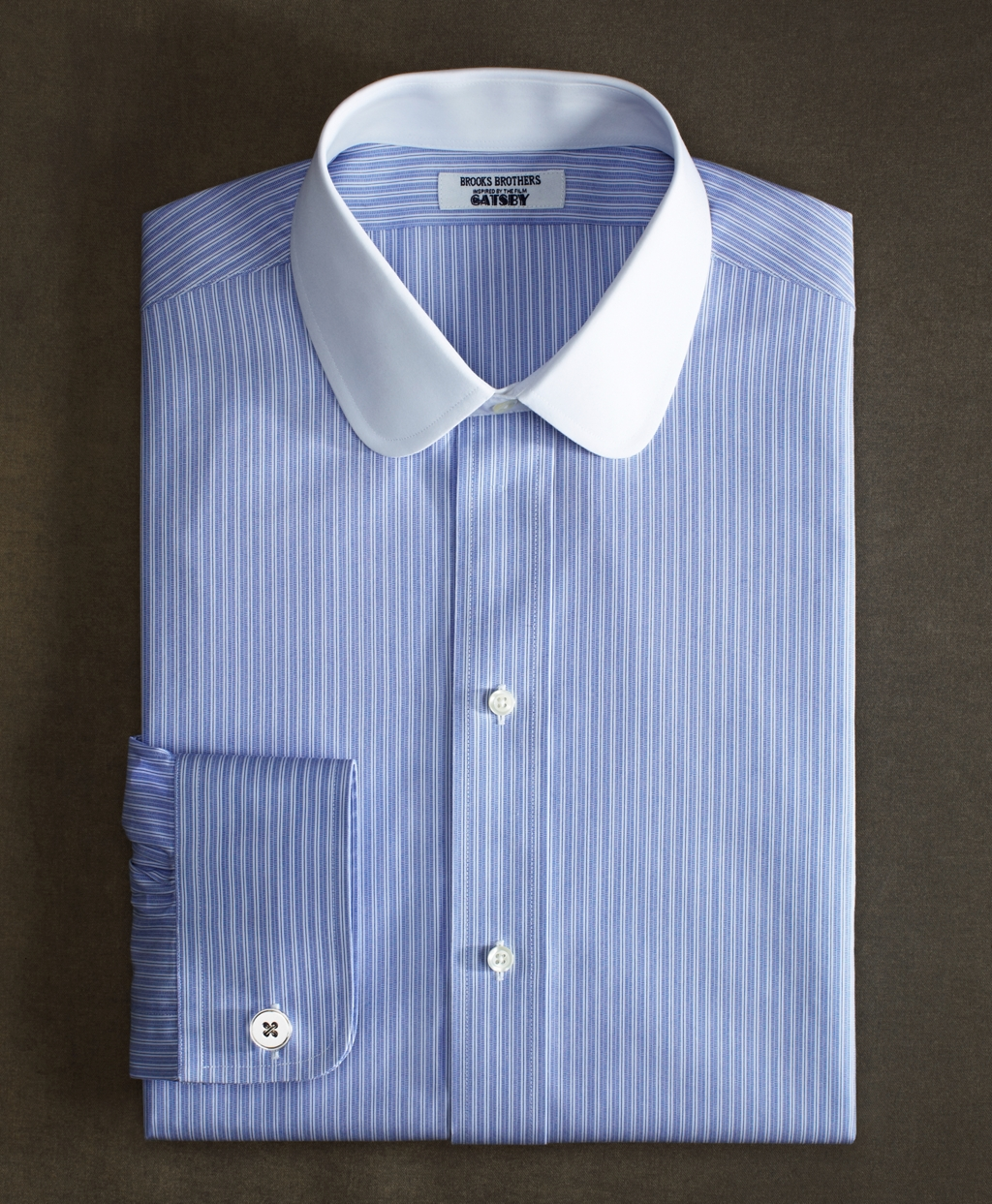 Lyst brooks brothers the great gatsby collection supima for Supima cotton dress shirts