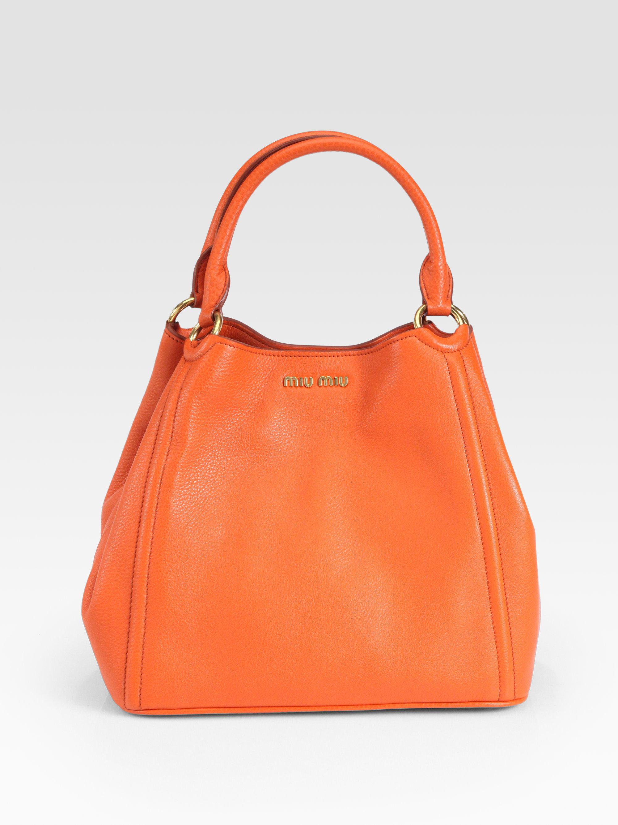 Miu Miu Orange Bag