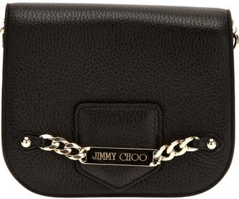 Jimmy Choo Chain Shoulder Bag - Lyst