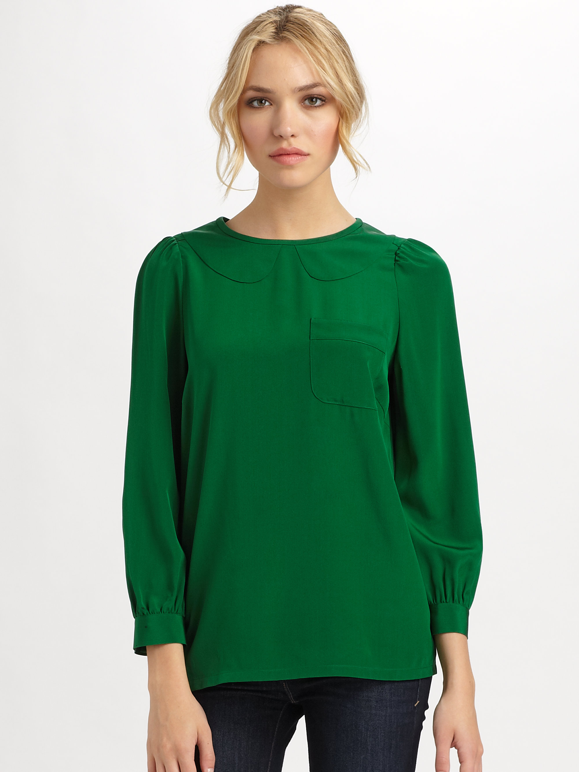 Shop for green blouse womens online at Target. Free shipping on purchases over $35 and save 5% every day with your Target REDcard.