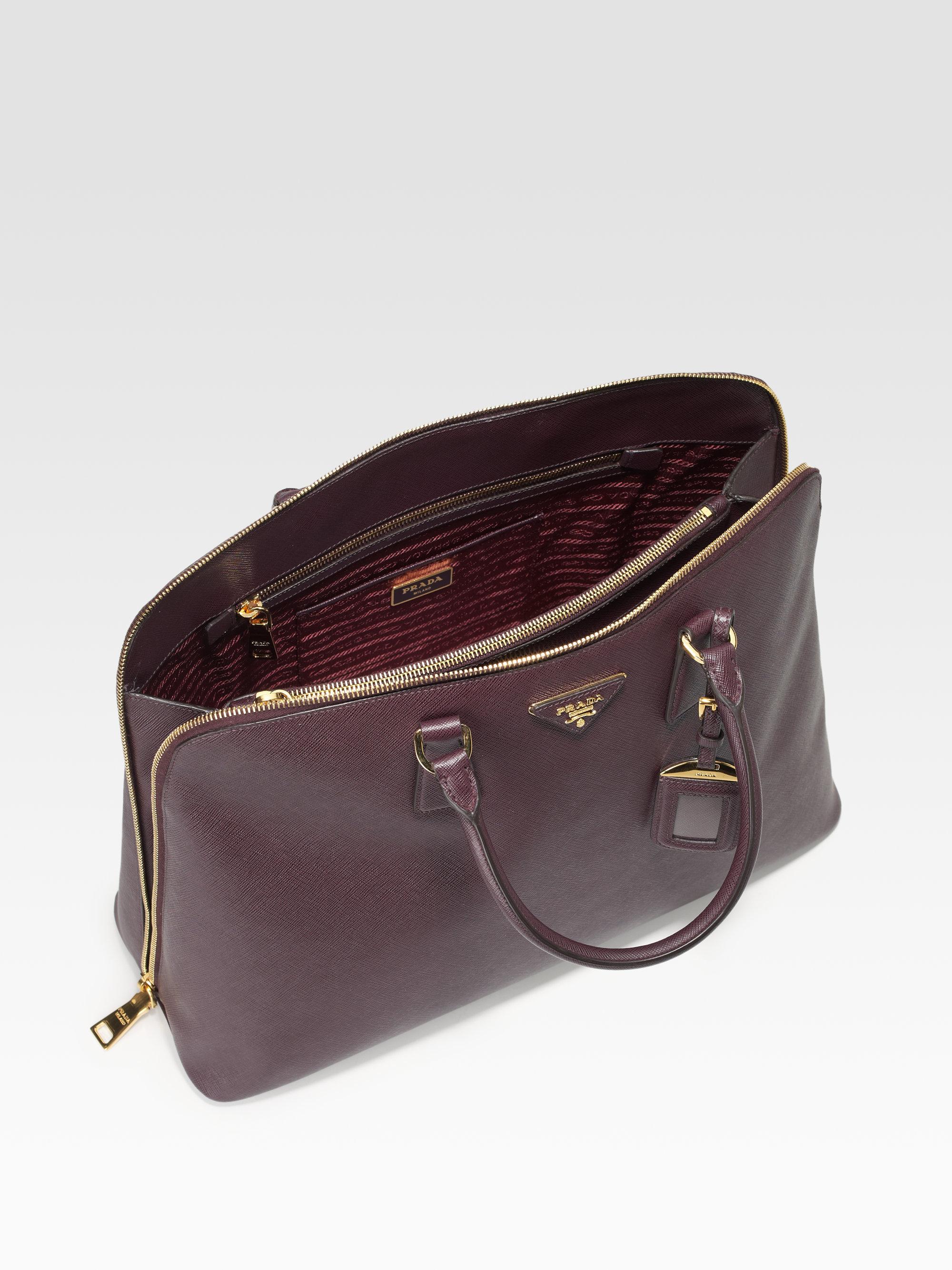 big orange prada bag - prada top handle tote bag hold all