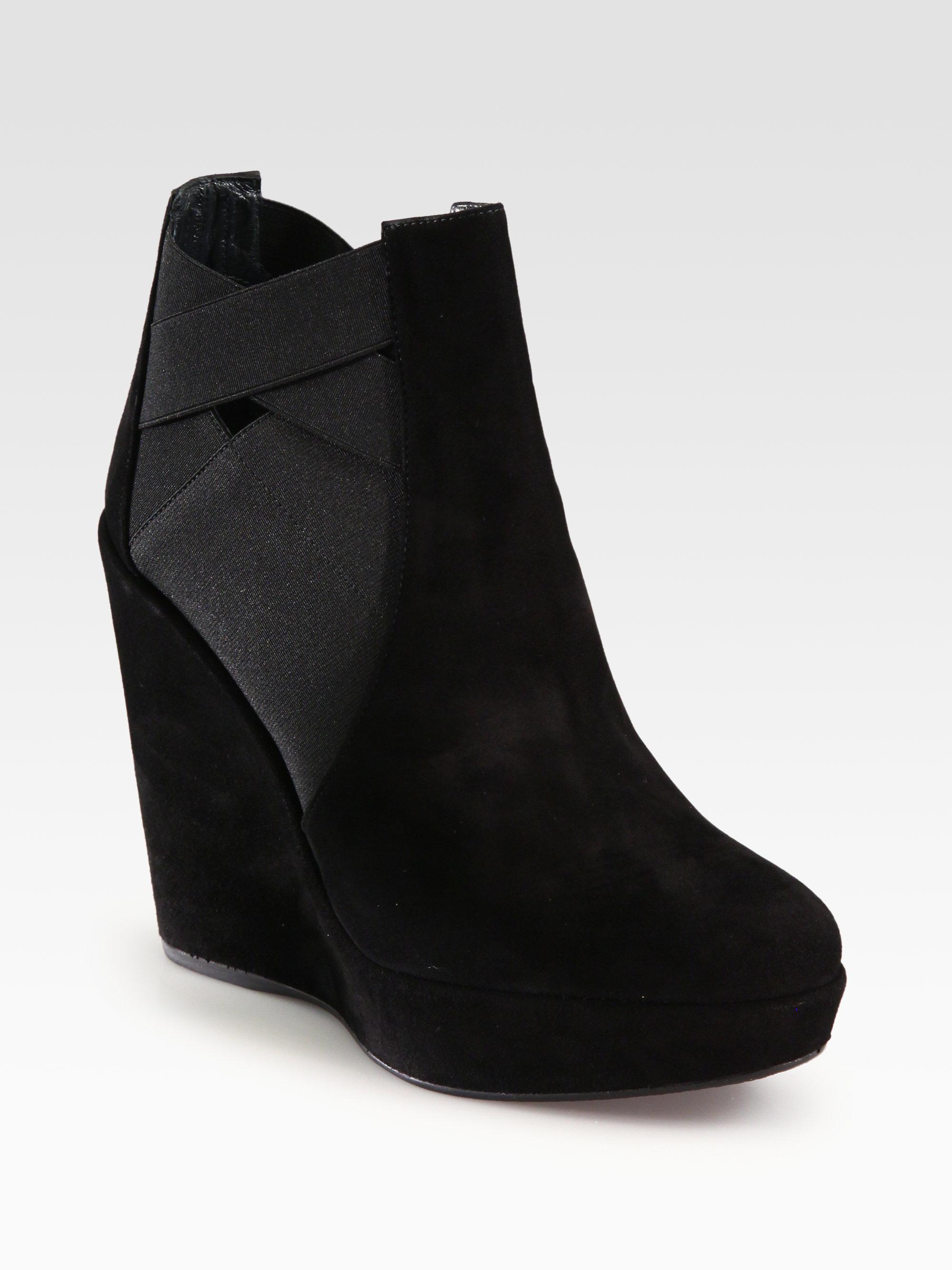 Stuart Weitzman Platform Wedge Ankle Boots latest for sale excellent discount exclusive 9IQNhcN