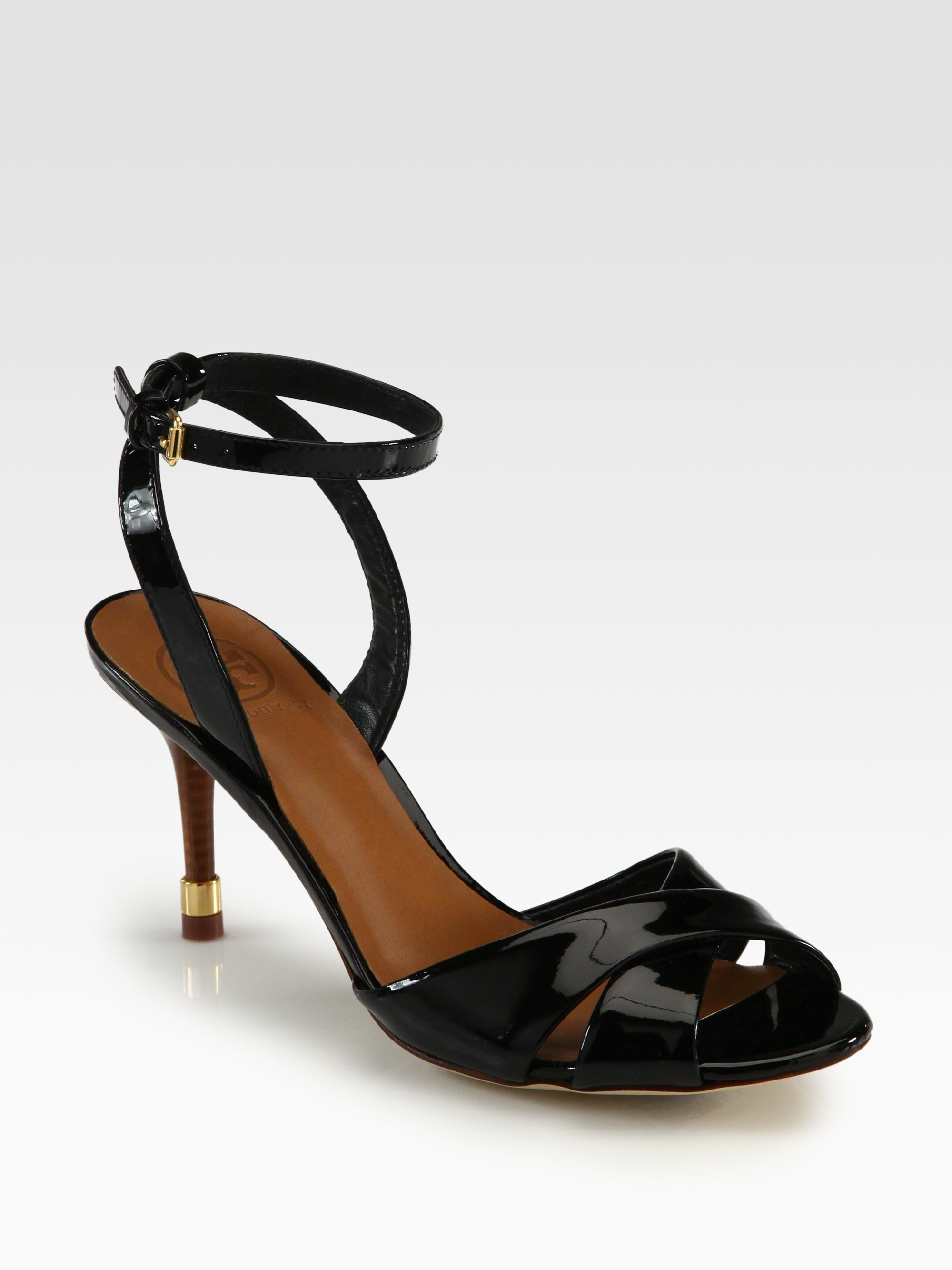 outlet order online shopping online for sale Tory Burch Leather Ankle Strap Pumps new arrival sale online rlfFAouj6K