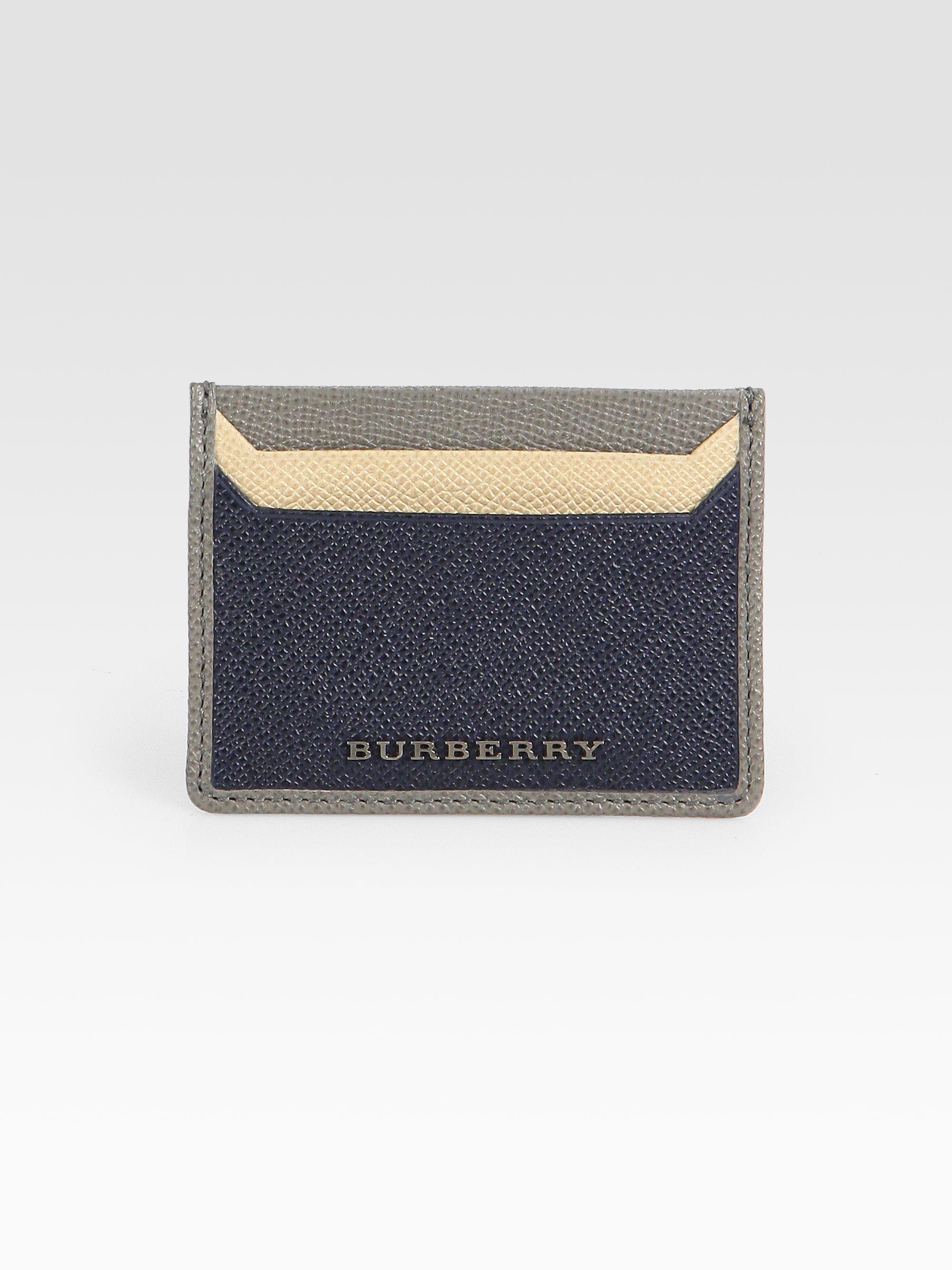 Burberry Card Holder Mens