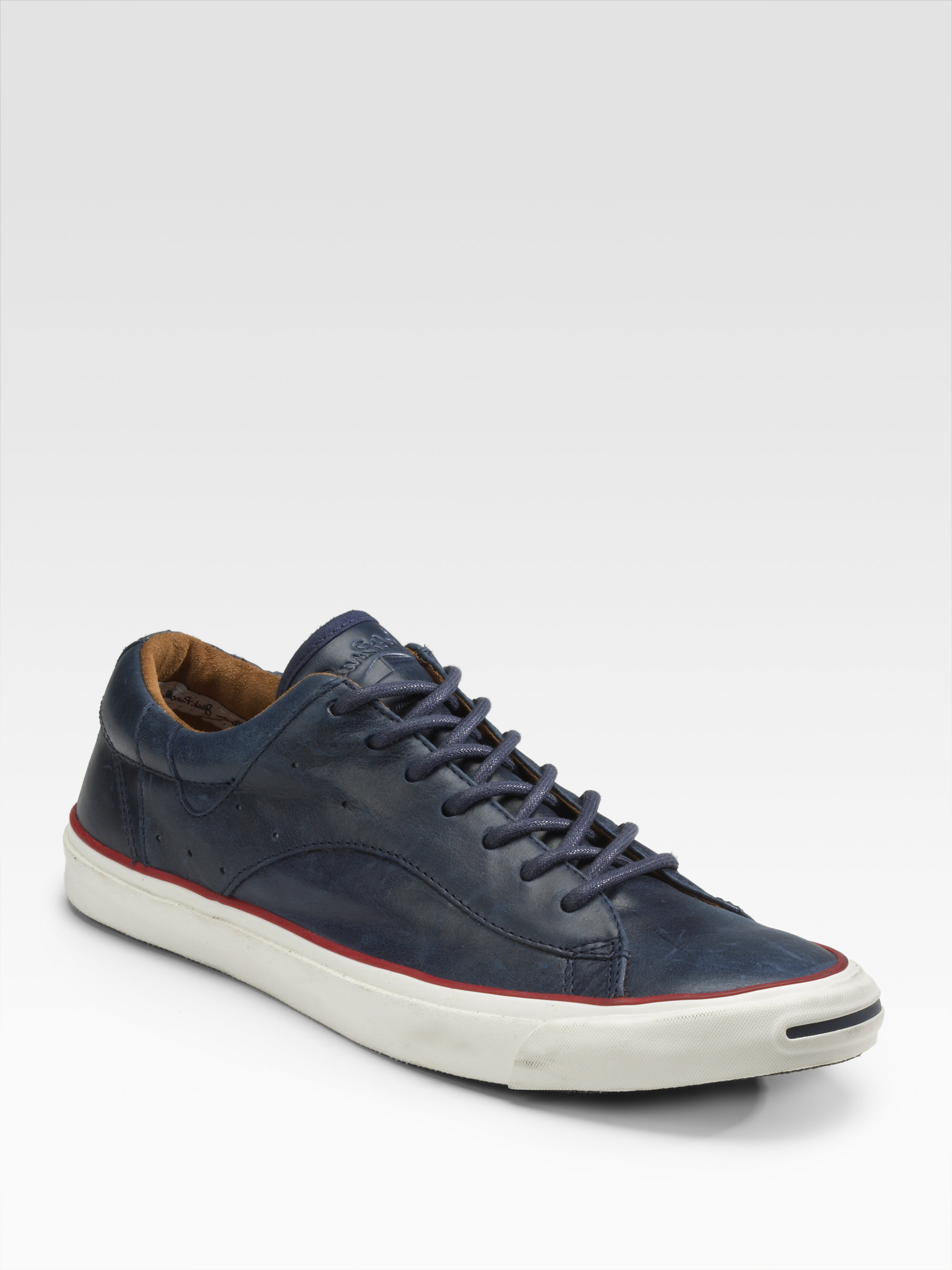 7c3808cfc2dc Lyst - Converse Jack Purcell Racearound Lowtops in Blue for Men