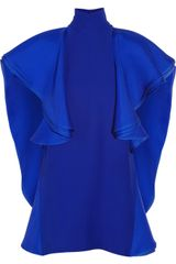 Gucci Ruffled Silk crepe Tunic