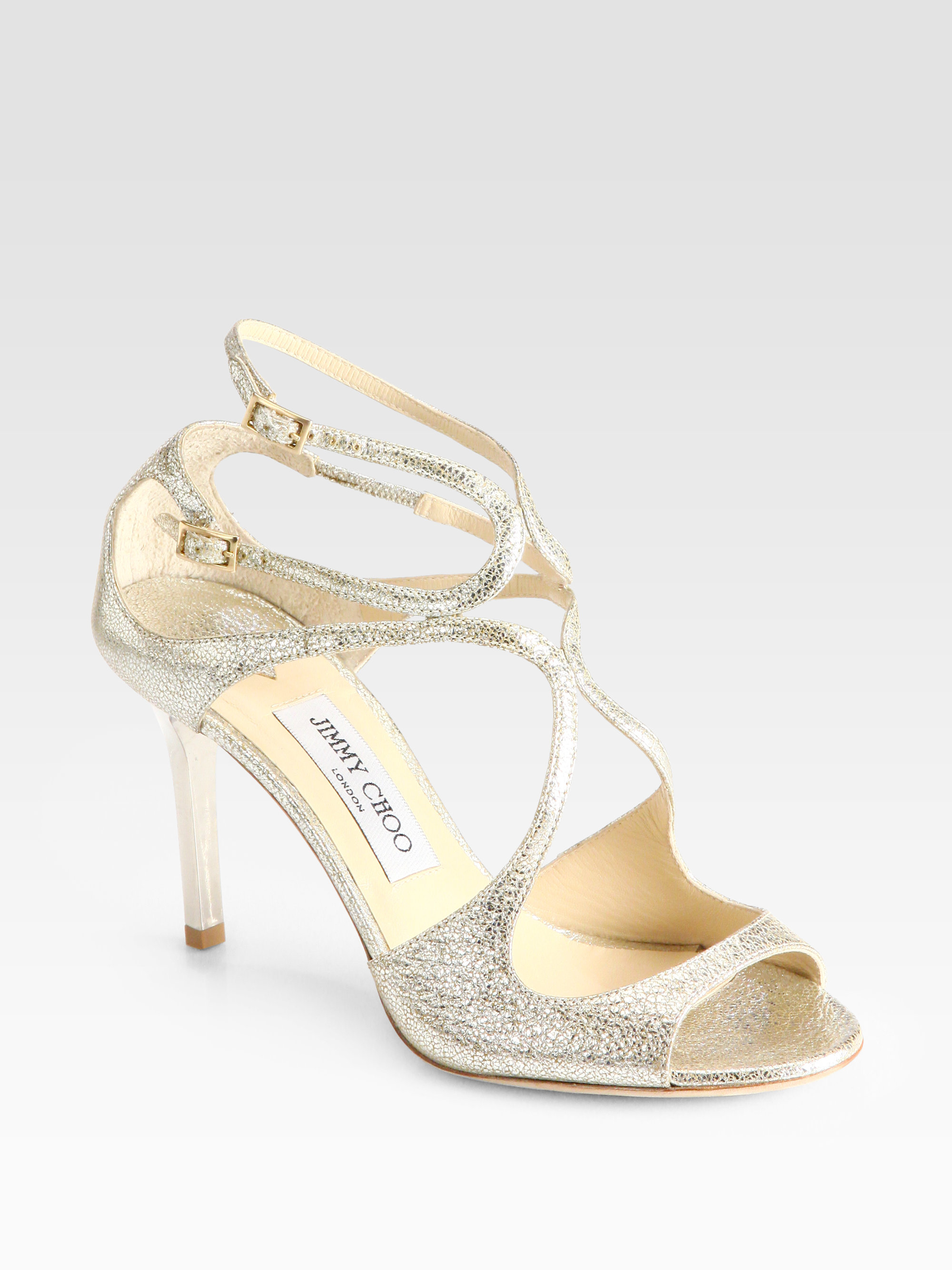 Ivette 85 sandals - Metallic Jimmy Choo London Latest Discount For Sale Online Sale Hot Sale Sale Affordable 2th32Cn