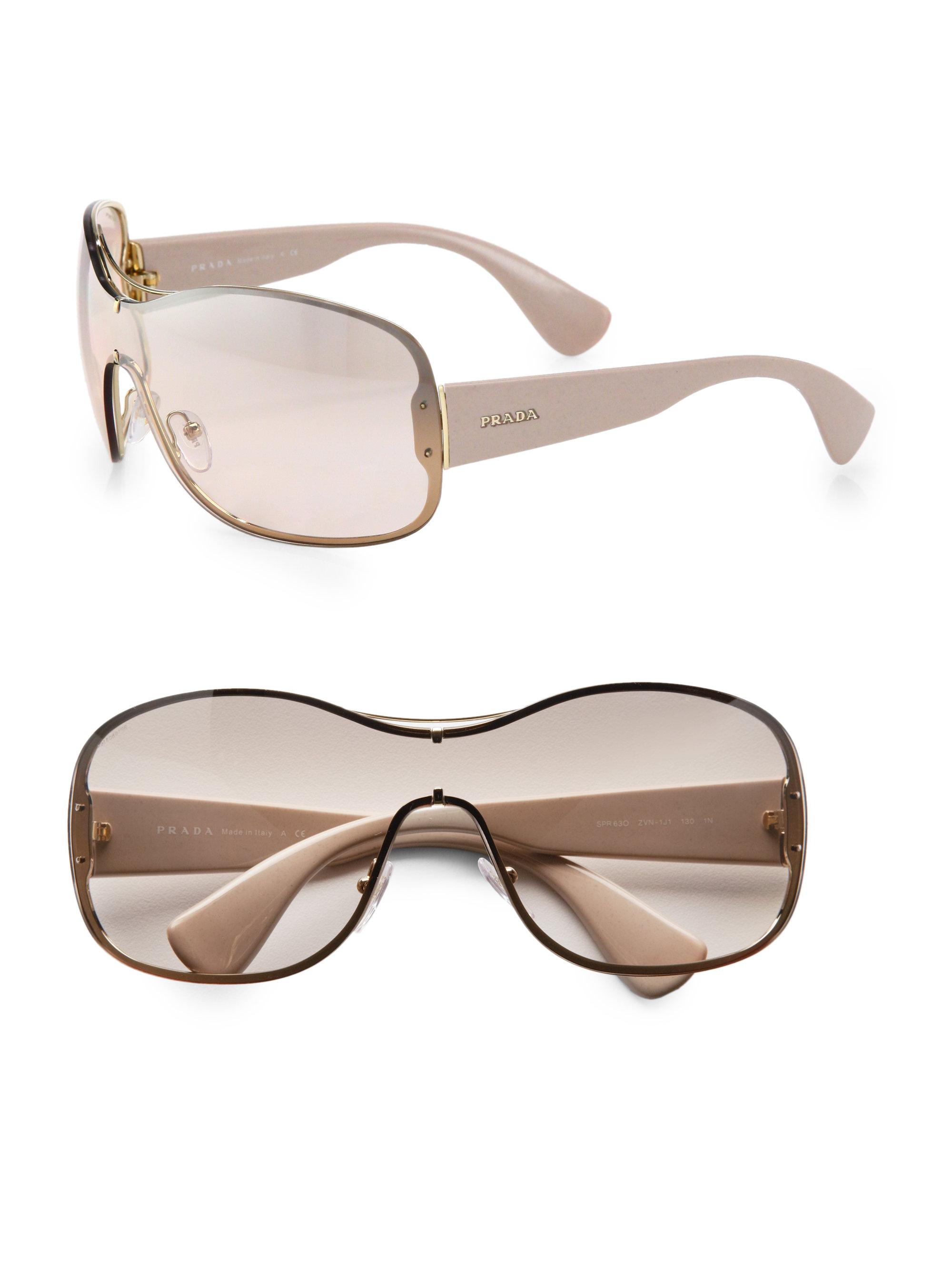 e28f3ba6c3 inexpensive prada sunglasses shield 6365a 45a94
