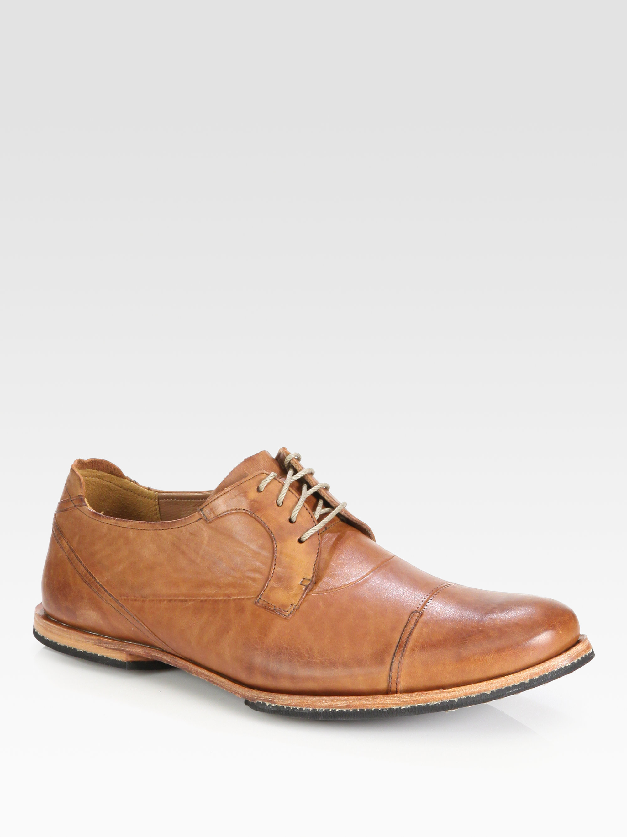 Lyst Timberland Wodehouse Captoe Oxfords In Brown For Men
