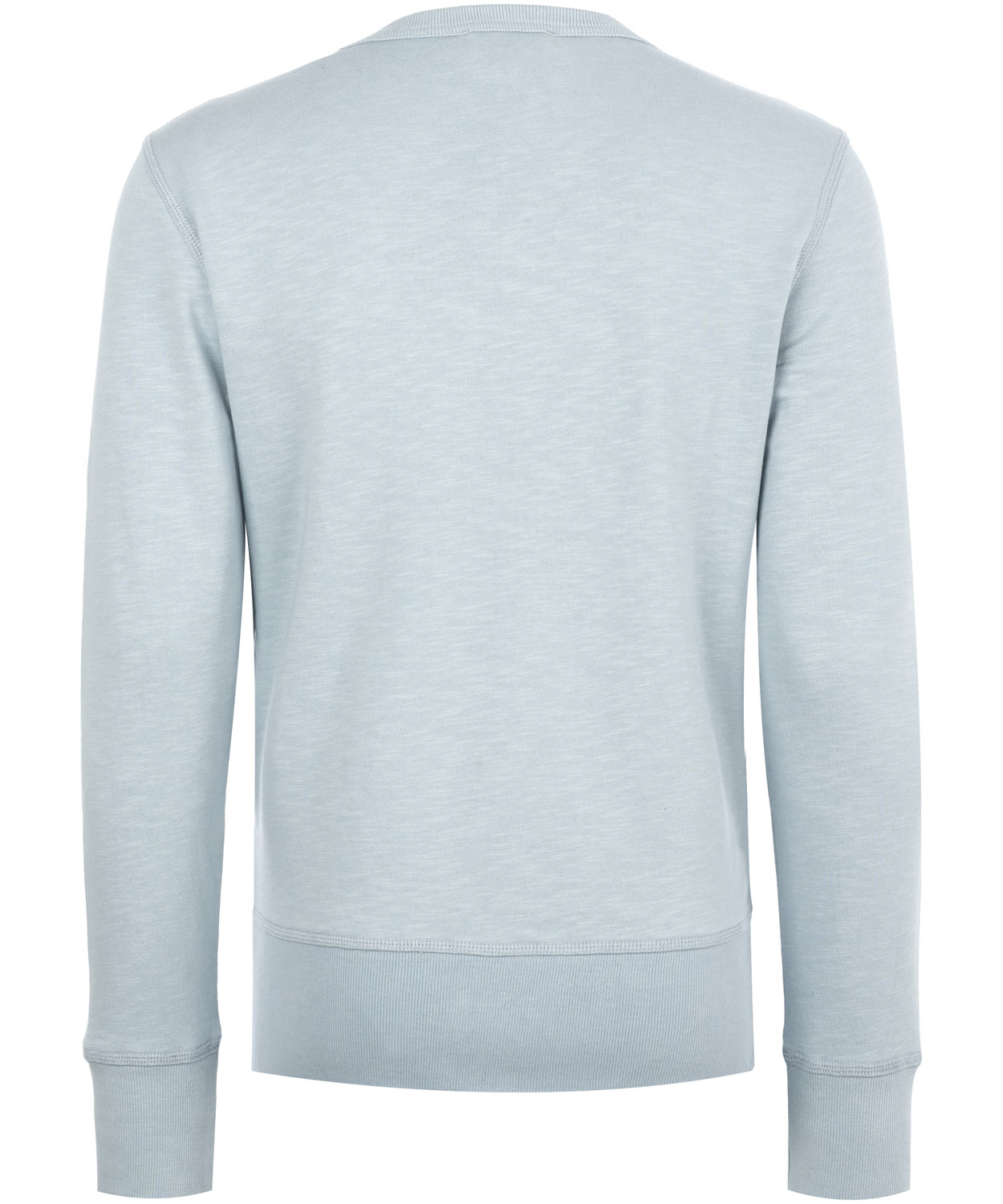 YMC  Terrycloth Crew Neck Jumper in Blue for Men