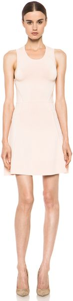 A.L.C. Kerry Dress in Peach - Lyst