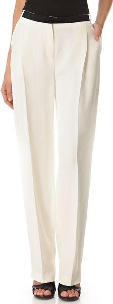 Costume National Tux Pants - Lyst