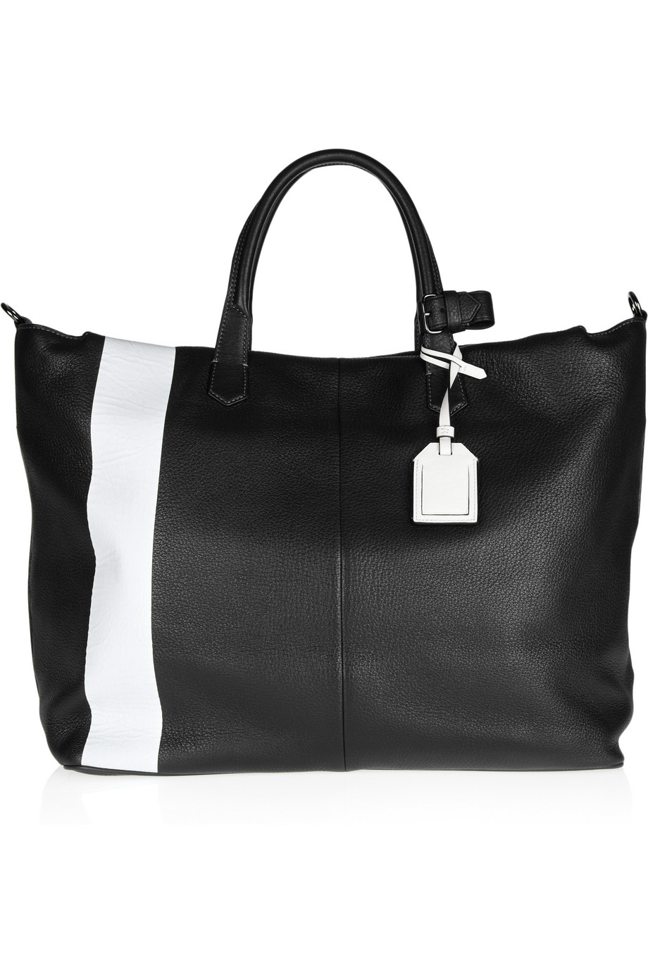 2616abc723be ... Lyst - Reed Krakoff Gym Bag Ii Two-Tone Leather Tote in Blac brand new  ...
