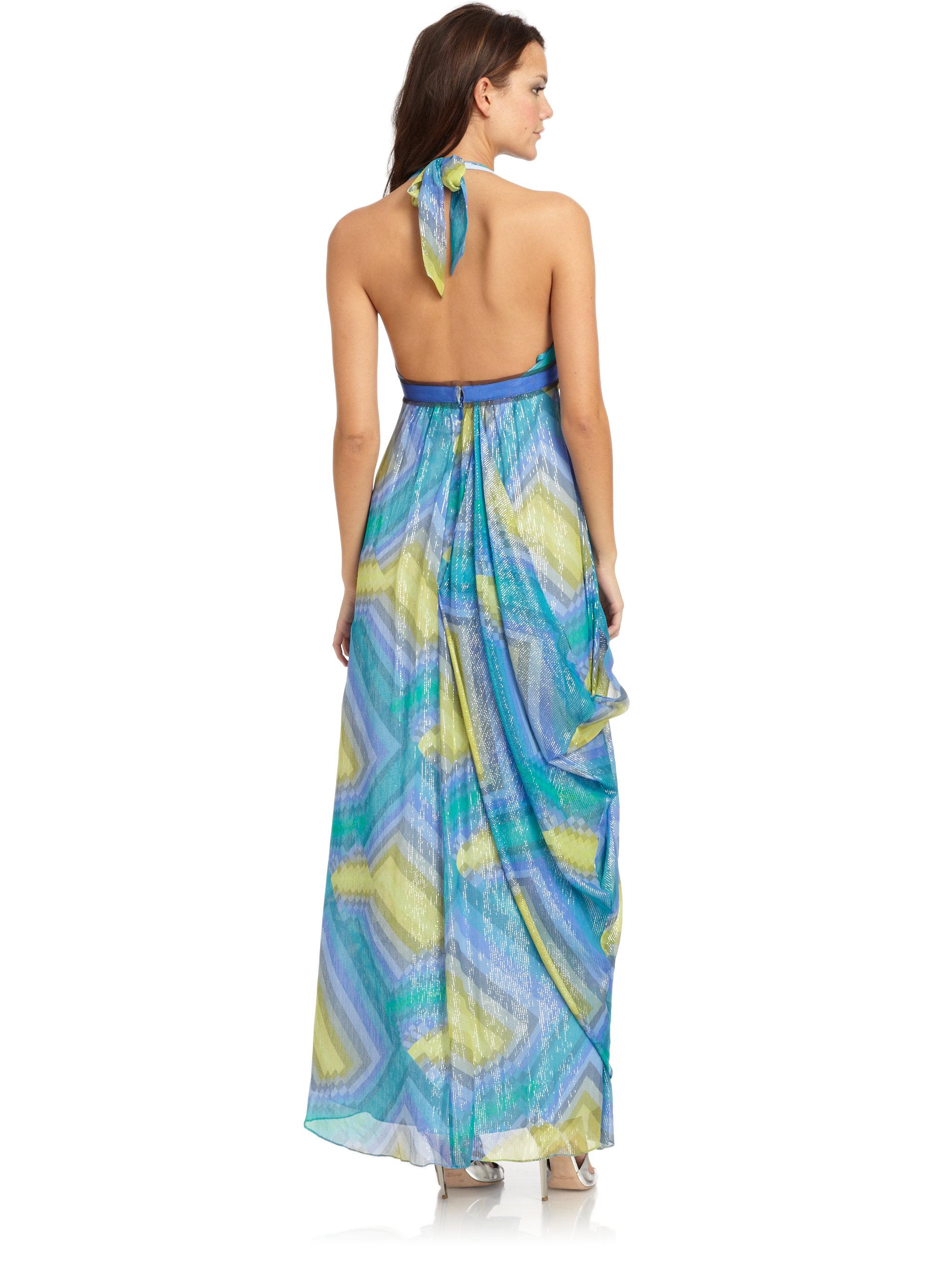 Bcbg tie dye maxi dress