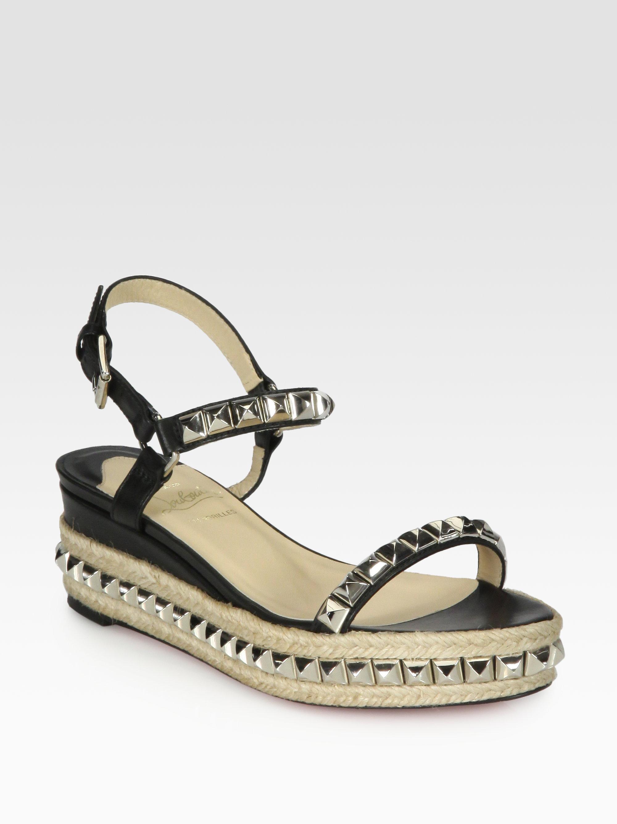 Christian Louboutin Wedge Shoes Sale