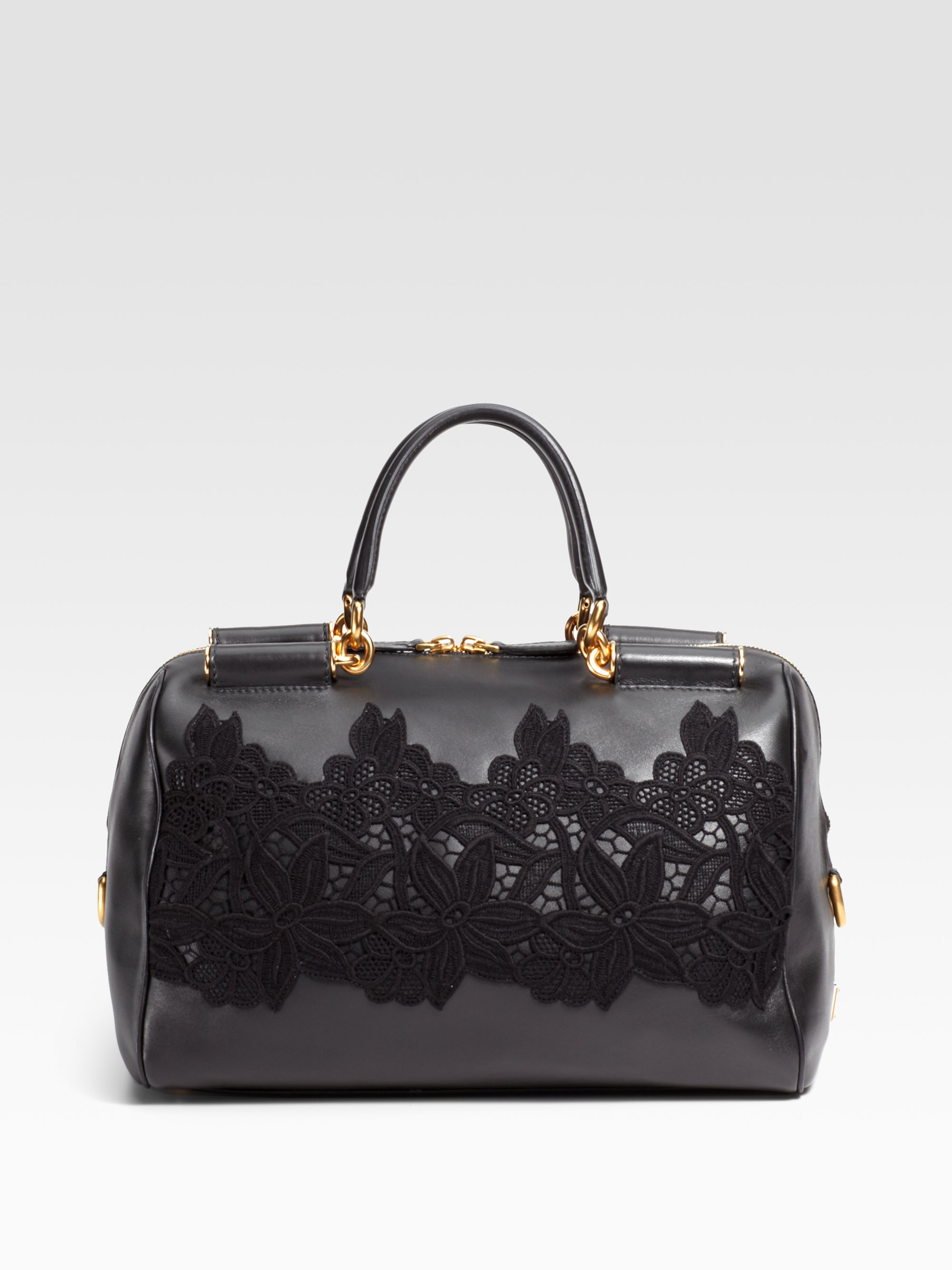 ... Lyst - Dolce Gabbana Miss Sicily Bowling Top Handle Bag in huge  discount fb8ae 291b9 6c7d5fad0ce1b