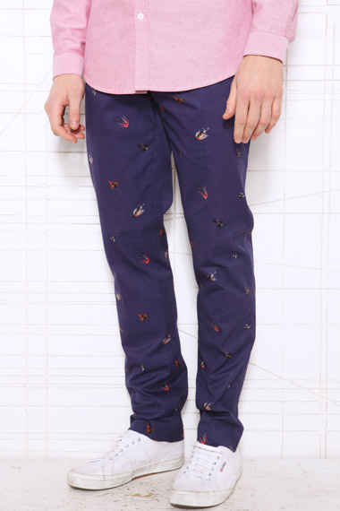 Farah Vintage X Uo Terence Fly Fishing Chinos in Navy (Blue) for Men