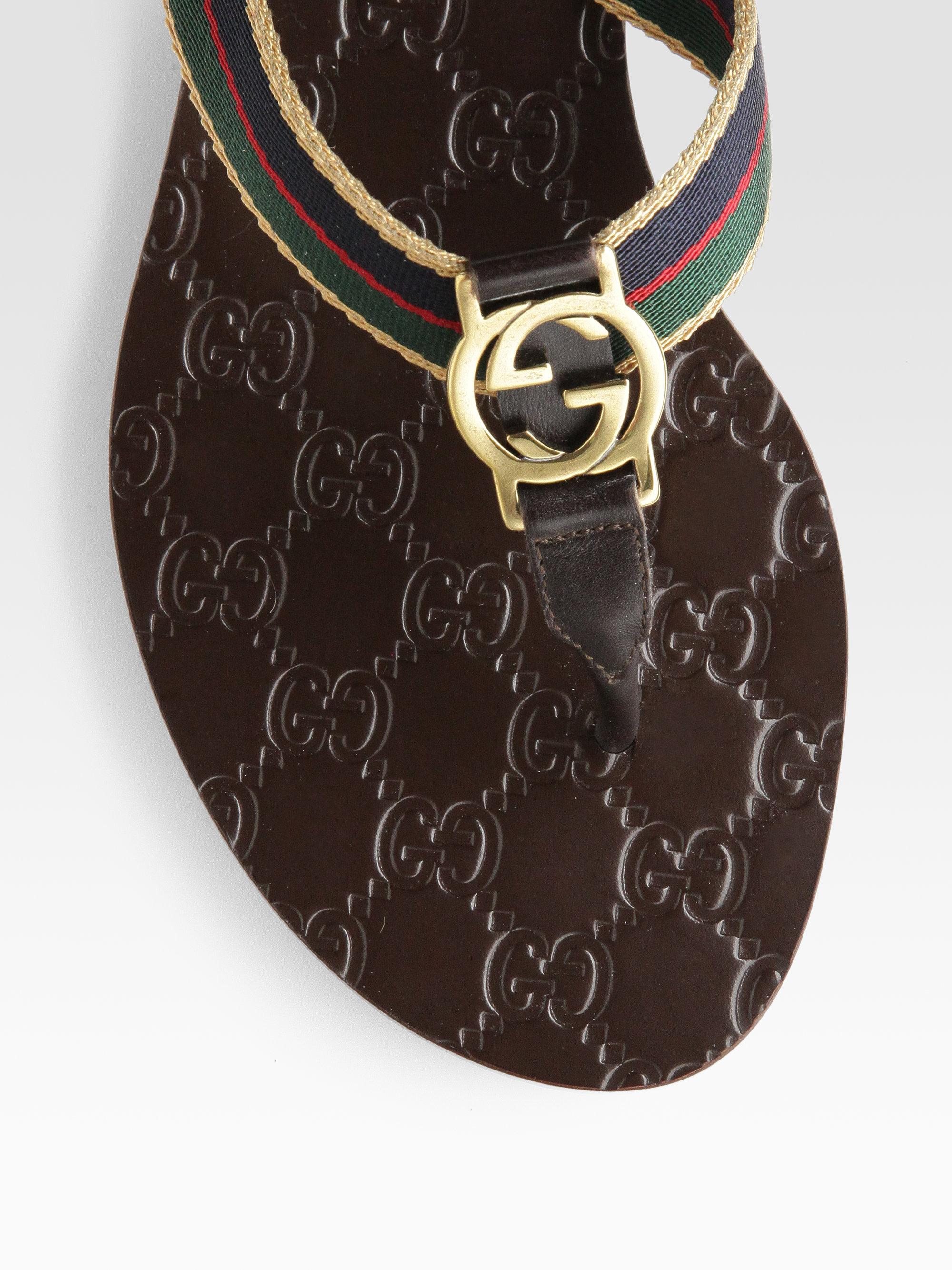 gucci gg thong sandals sale
