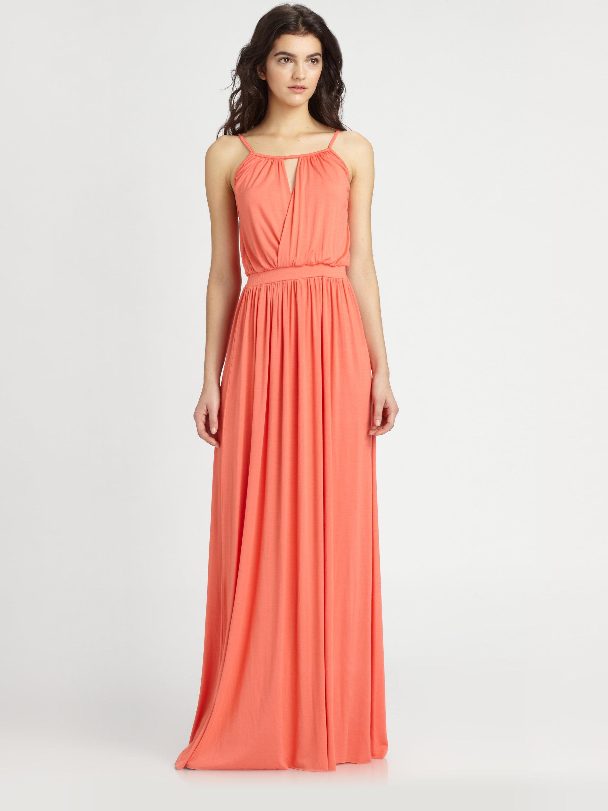 Rachel pally Rhiannon Maxi Dress in Orange  Lyst