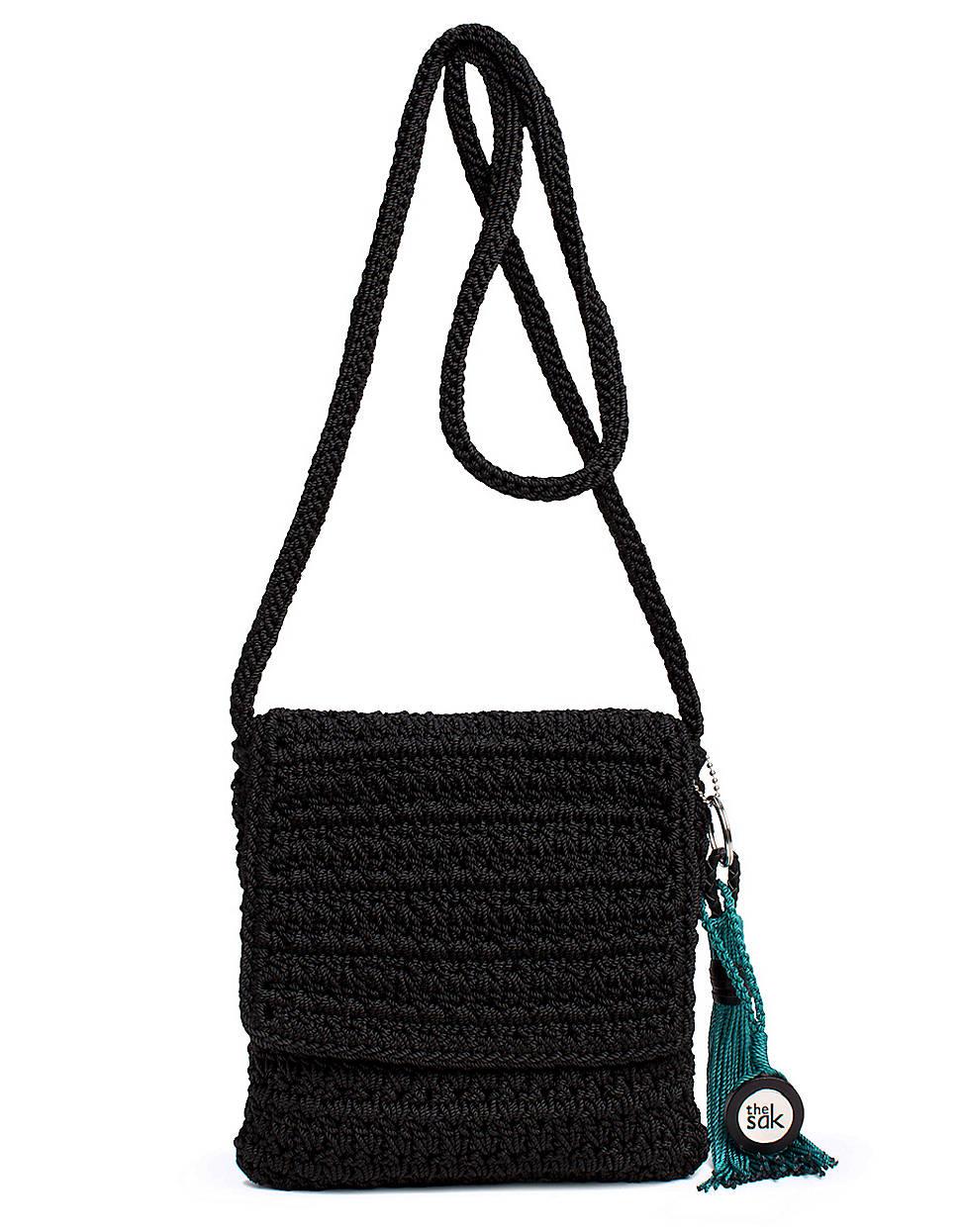 The Sak Crochet Purse Black Best Purse Image Ccdbborg