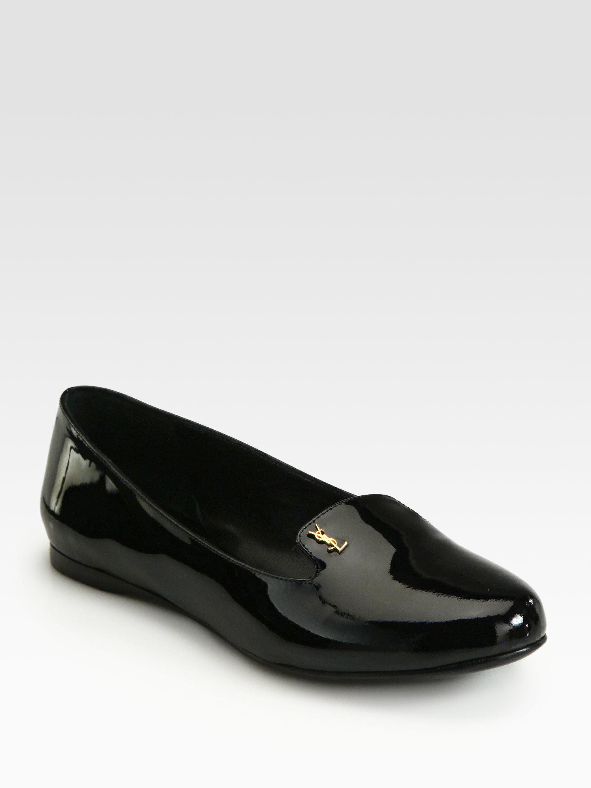 Leather slipper shoes Saint Laurent LujN77zEY