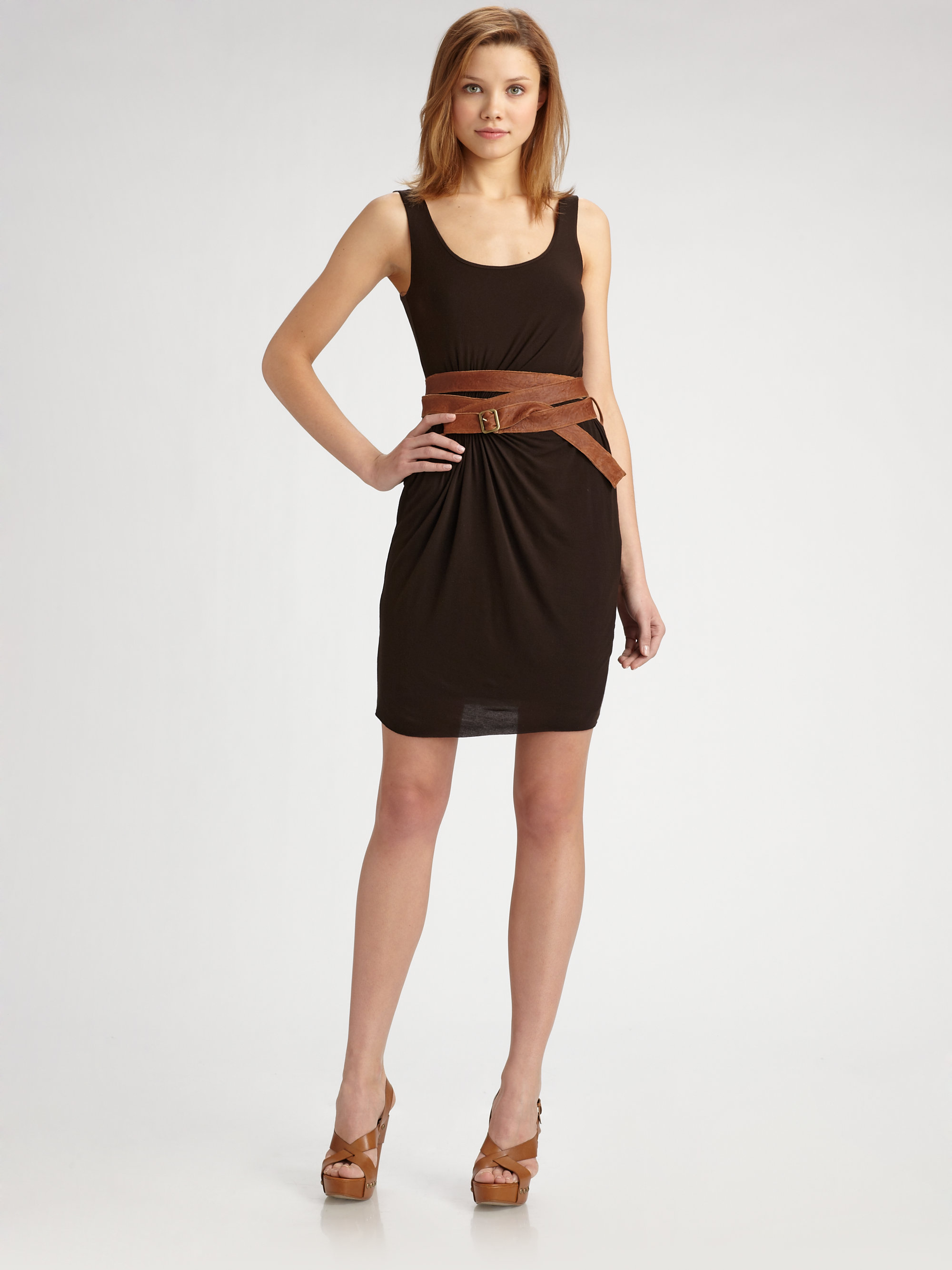 Bailey 44 Magic Snake Dress In Brown Lyst