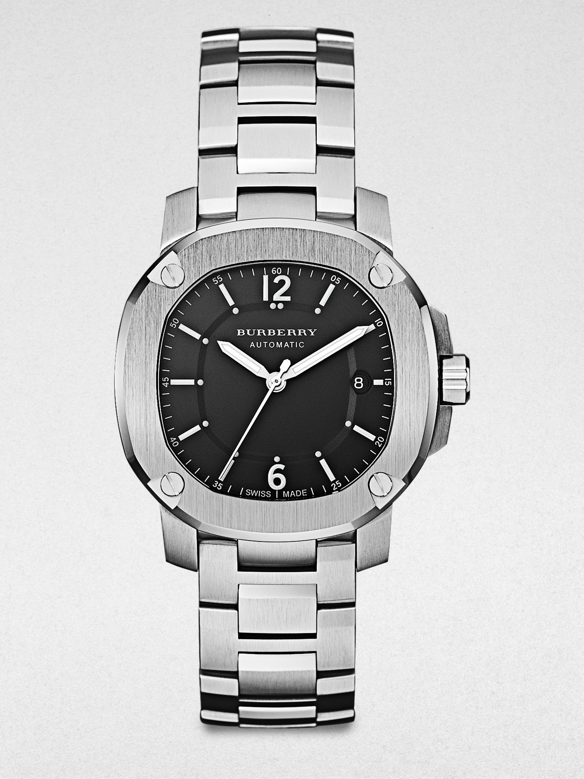 Burberry Unisex Stainless Steel Automatic Watch in ...