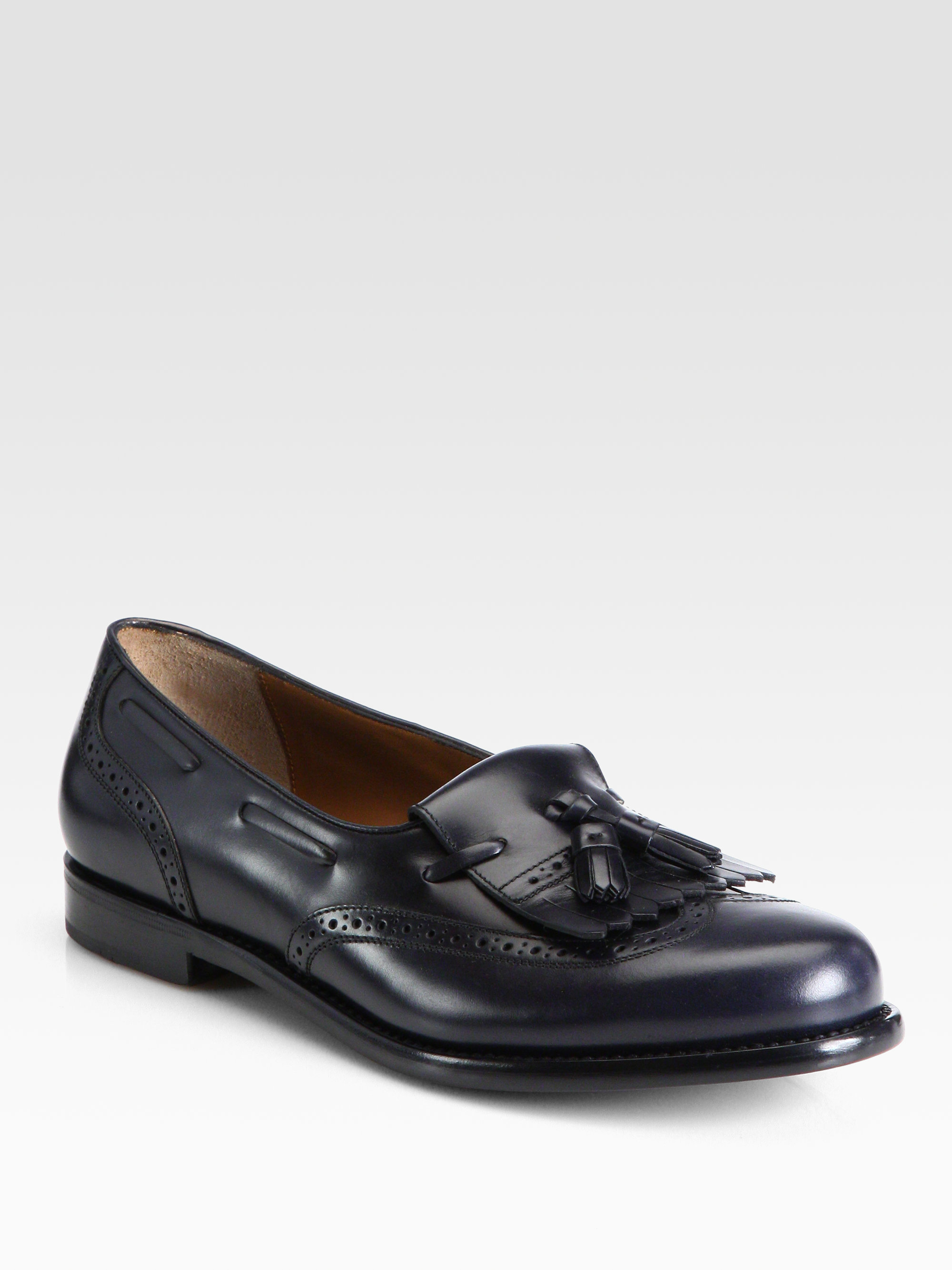 BEST ANSWER: The shoe you are looking for is style or - the original Classic Pinch Tassel Loafers in Black and Burgundy. They are available at the /5(6).