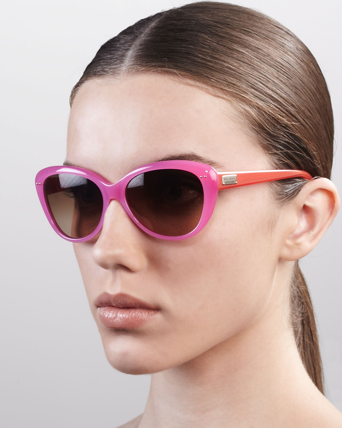Kate Spade New York Angelique Cateye Sunglasses In
