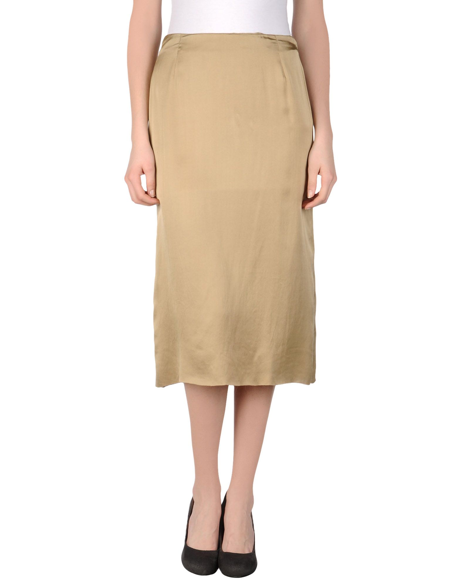 urbinati 34 length skirts in khaki lyst