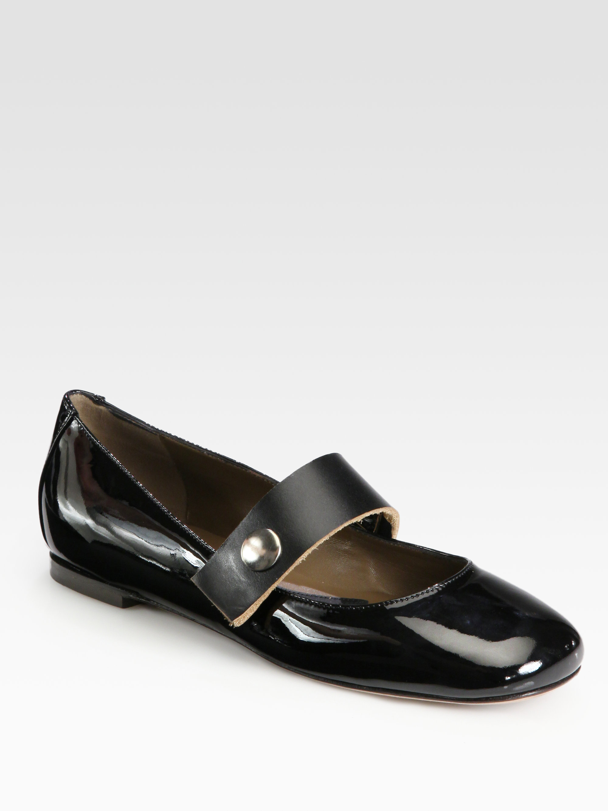 Marni Patent Leather Ballet Flats release dates for sale 9Mp1VX7CK