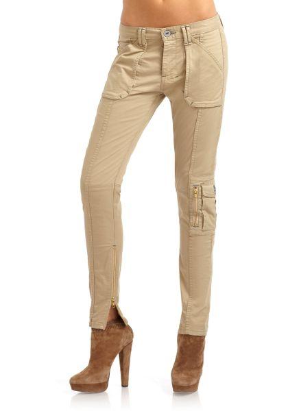 Amazing Khaki Skinny Cargo Pants  Zulily