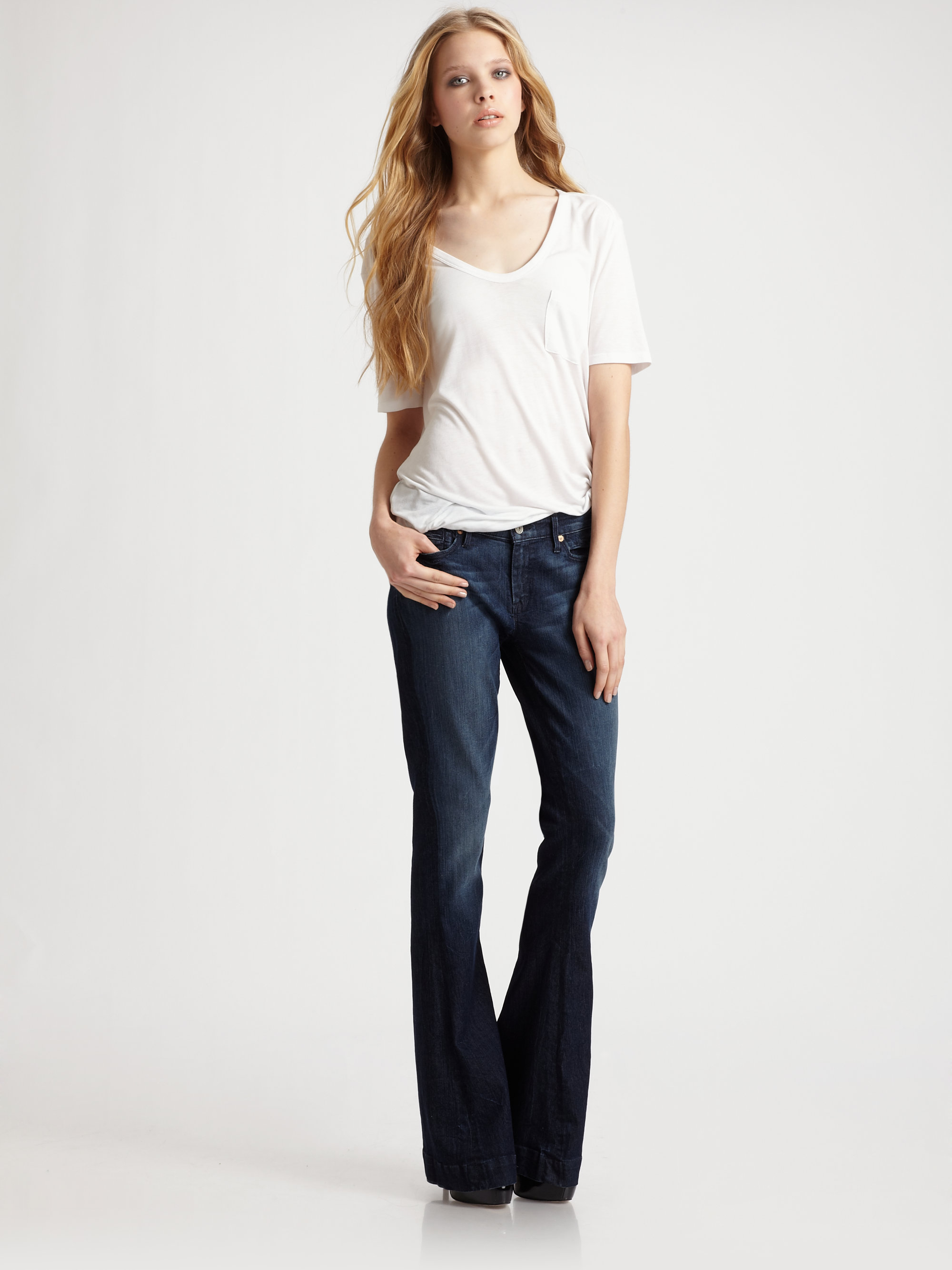 7 For All Mankind Fashion & Outfits | Celebrity Style Guide