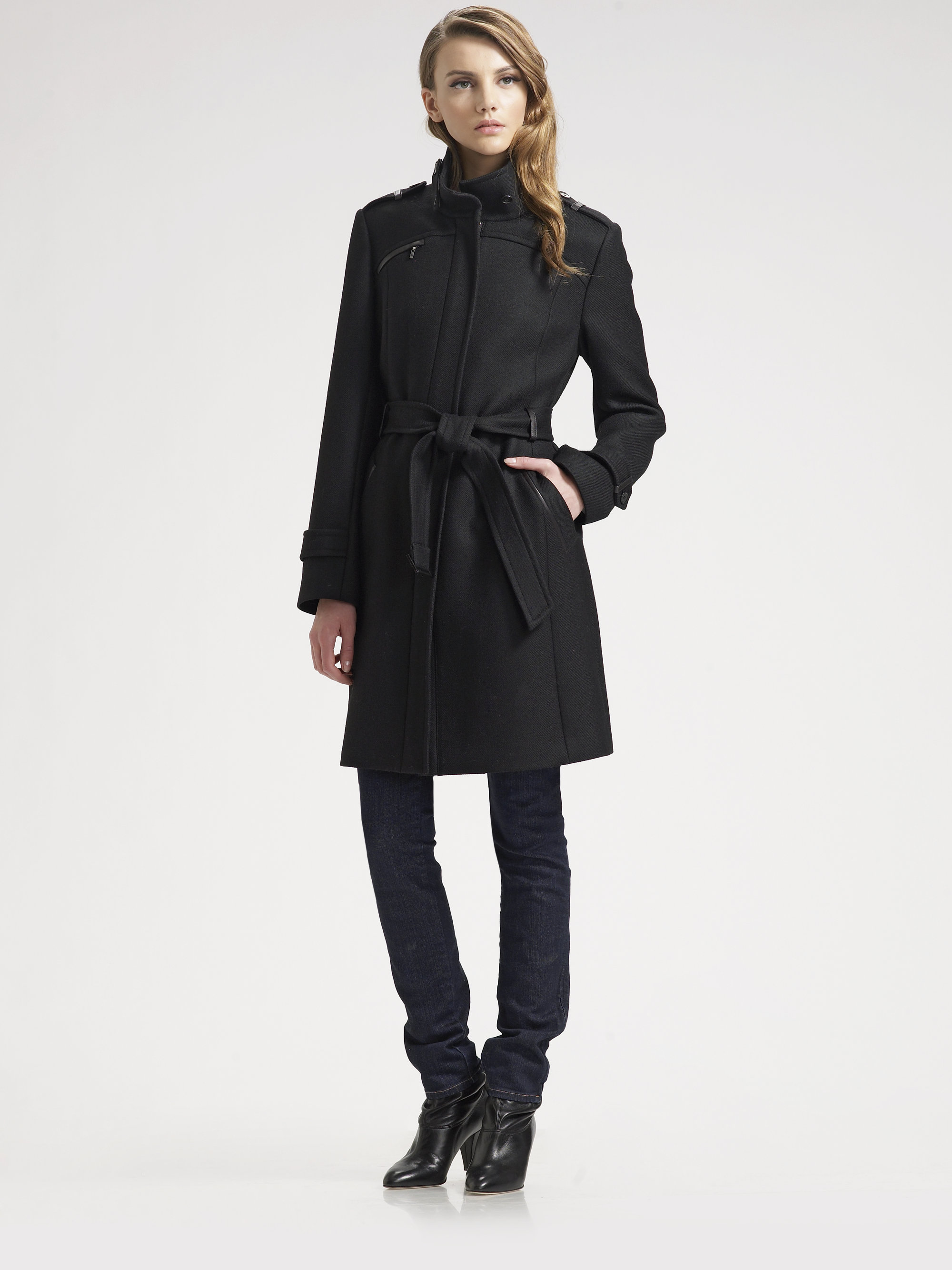Shop the Belted Zip Trench Coat In Wool Melton at shopnew-5uel8qry.cf and see our entire selection of Women's Coats & Jackets.
