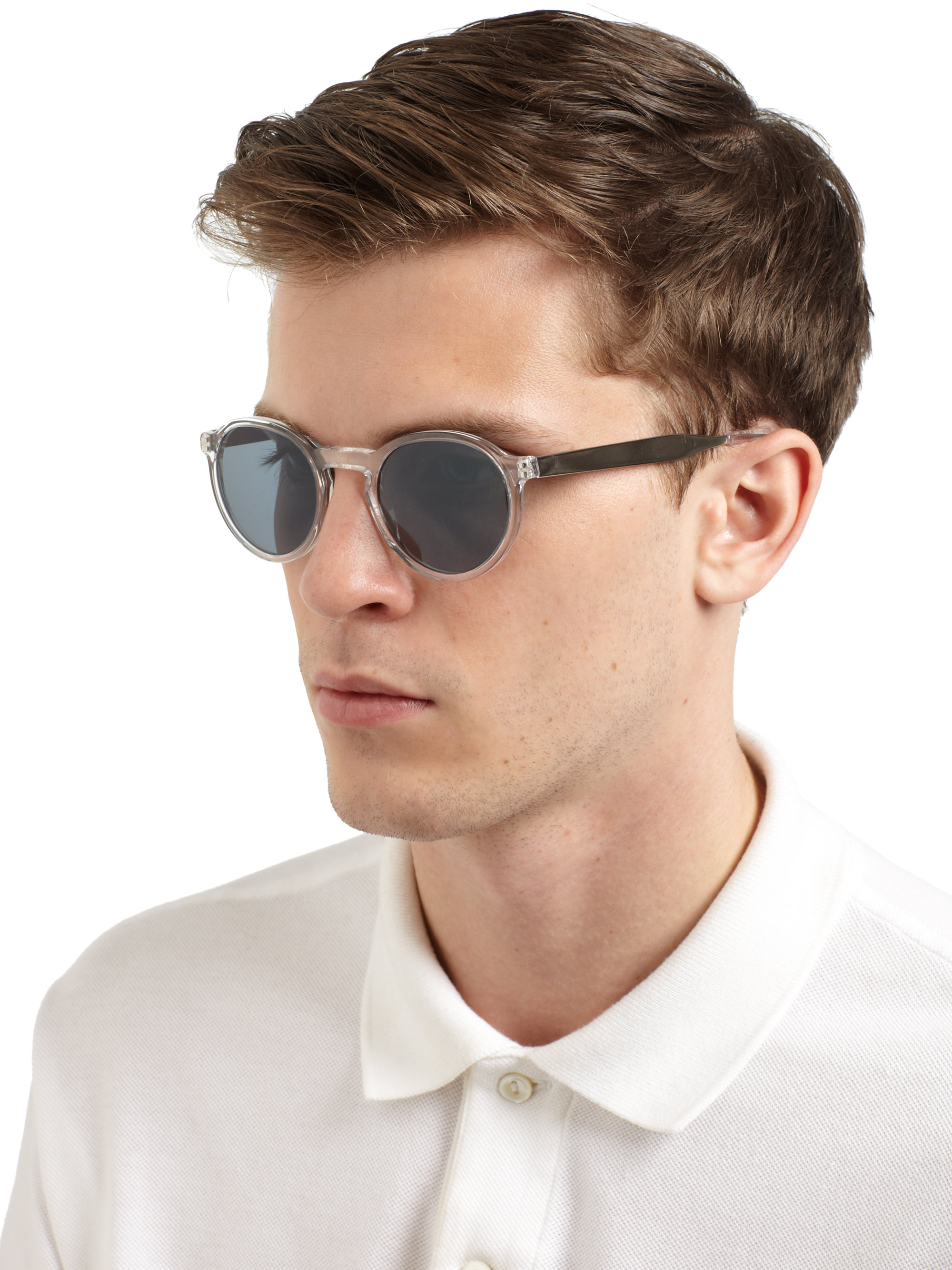 Men Round Sunglasses  paul smith elson round sunglasses for men lyst