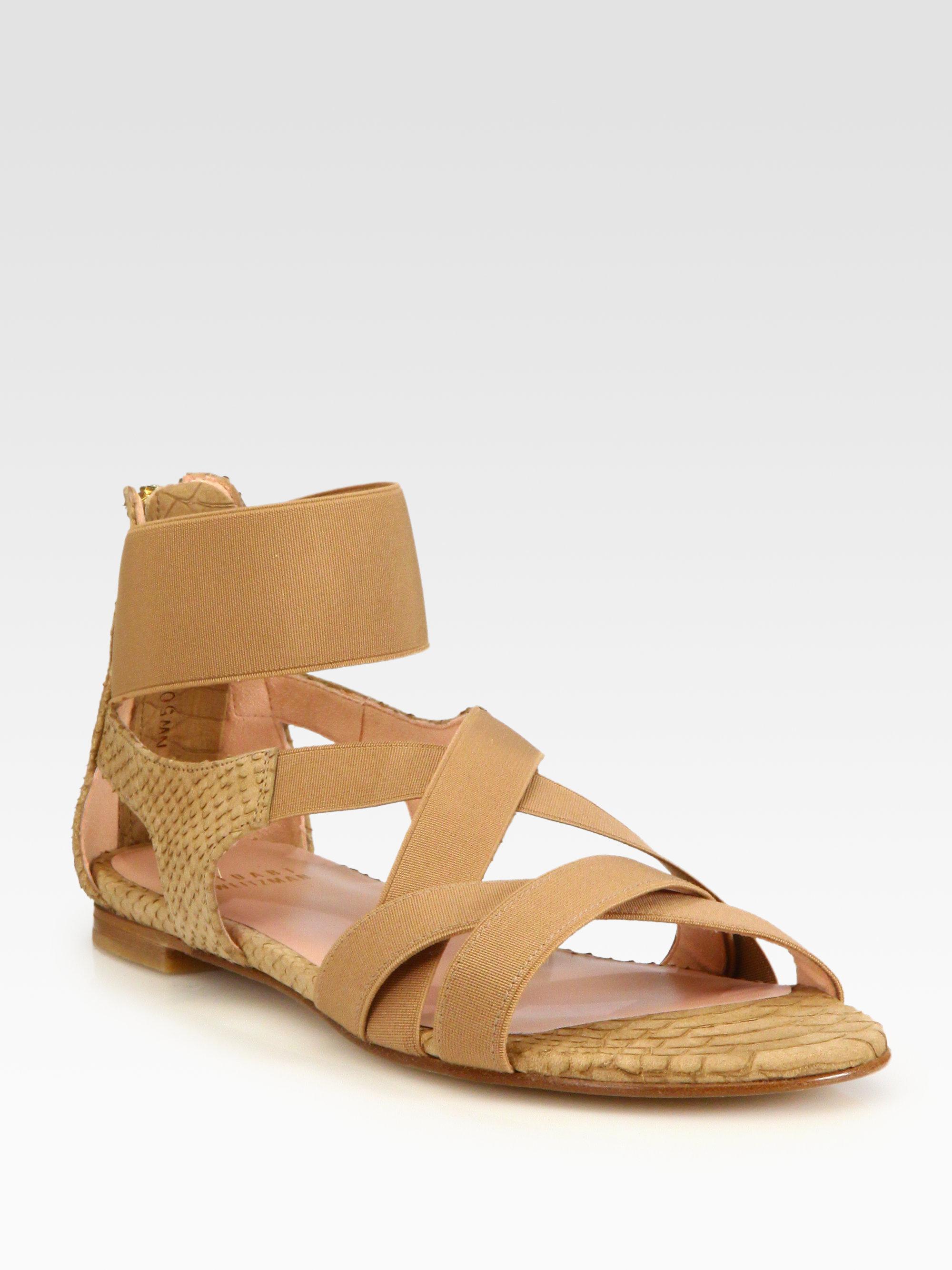 Elliott Criss Cross Banded Sandals qsc4eIaq05