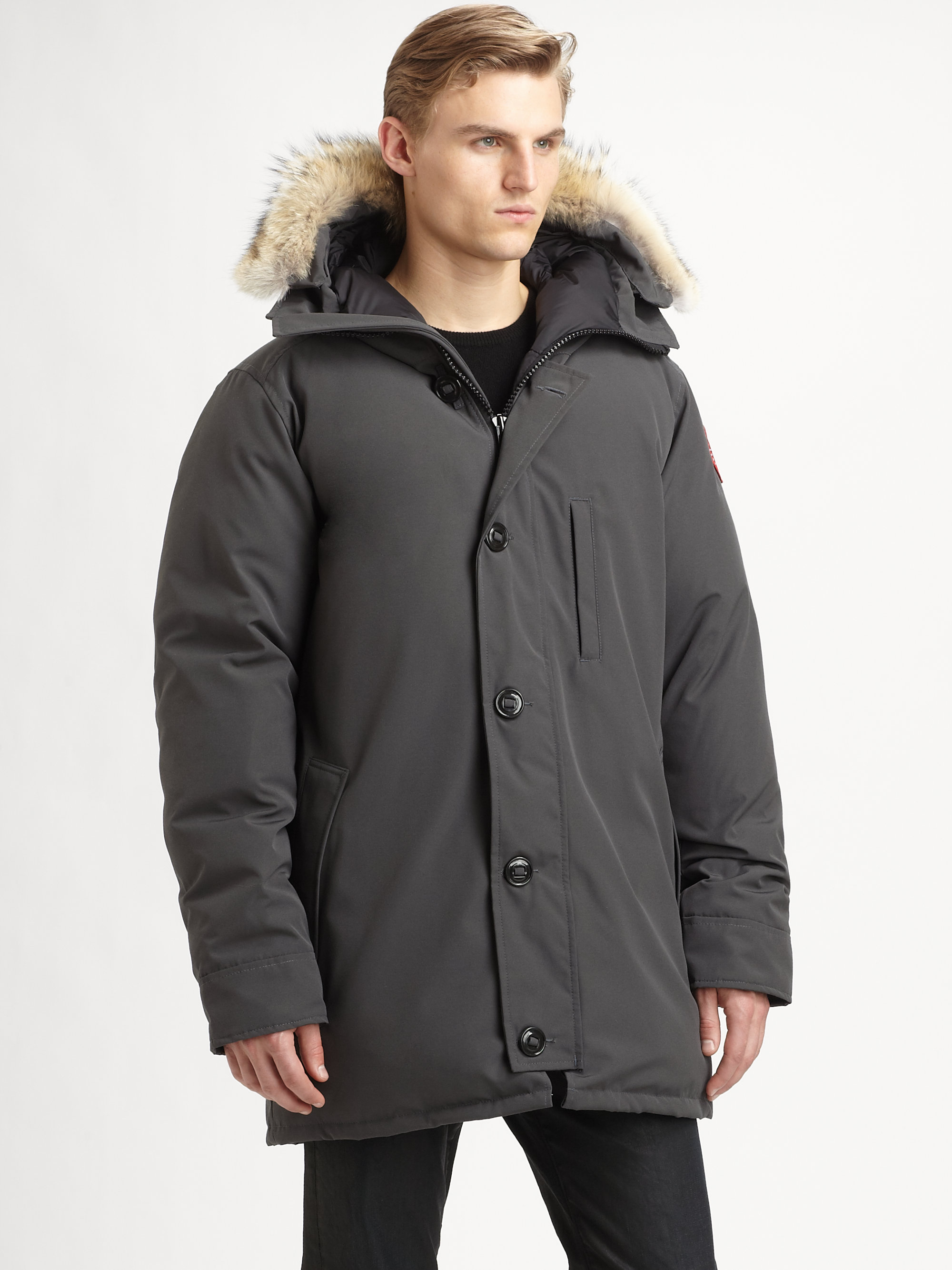 Canada Goose Chateau Parka in Gray for Men (graphite)