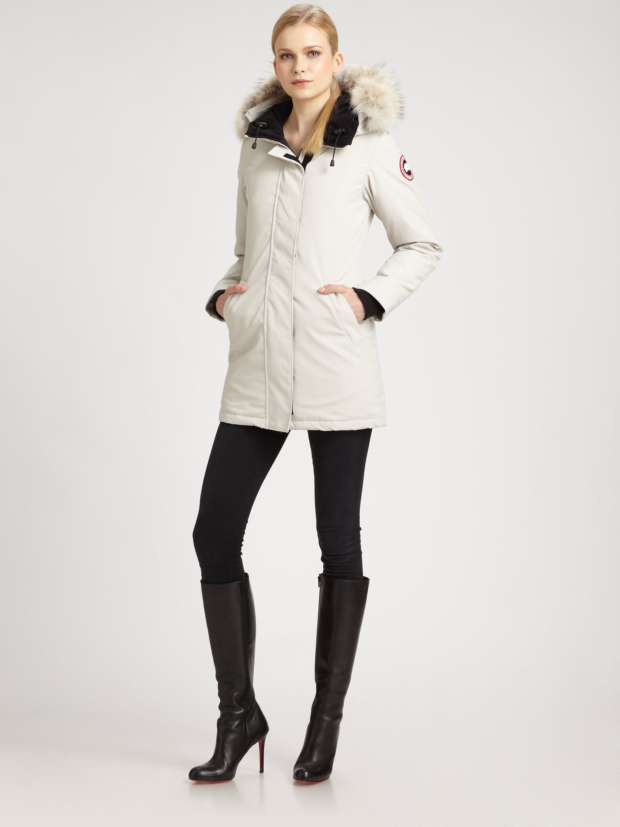 Gallery. Previously sold at  Saks Fifth Avenue · Women s Canada Goose  Victoria ... 09dfa2f7b