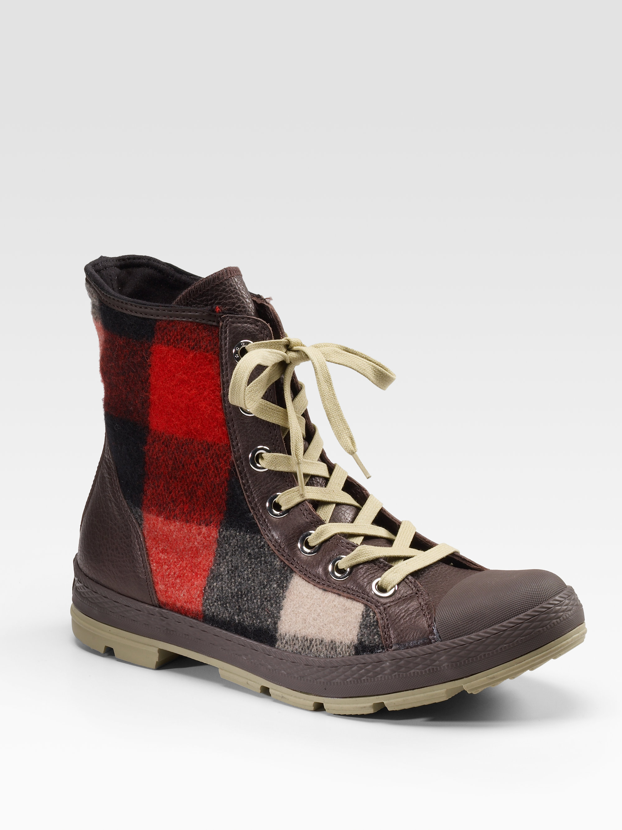 Lyst Converse Chuck Taylor Woolrich Outsider Boots In