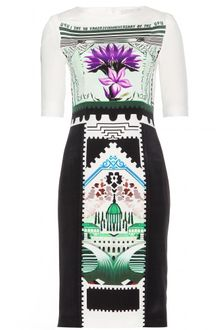 Mary Katrantzou Viola Botanist Silk Print Dress - Lyst