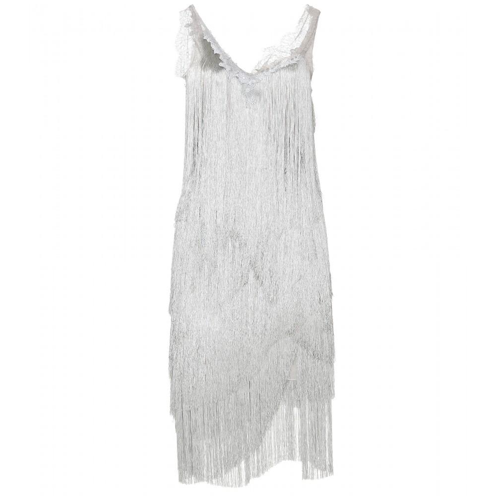 Lace tassel dress