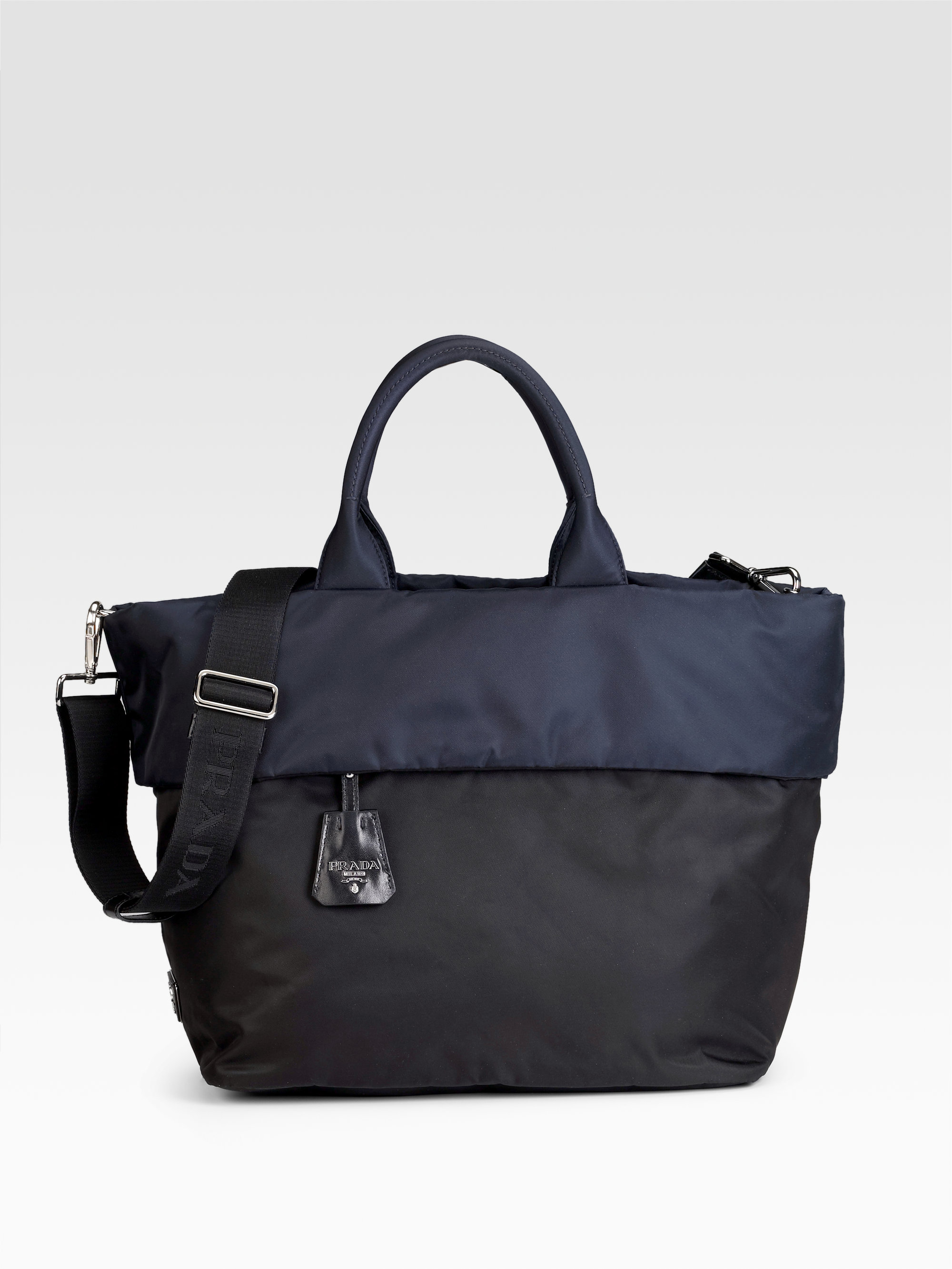 4968c5eee20c1f Prada Tote Black | Stanford Center for Opportunity Policy in Education