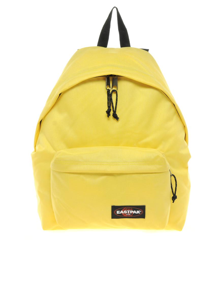Lyst - Eastpak Eastpak Pakr Backpack in Yellow for Men