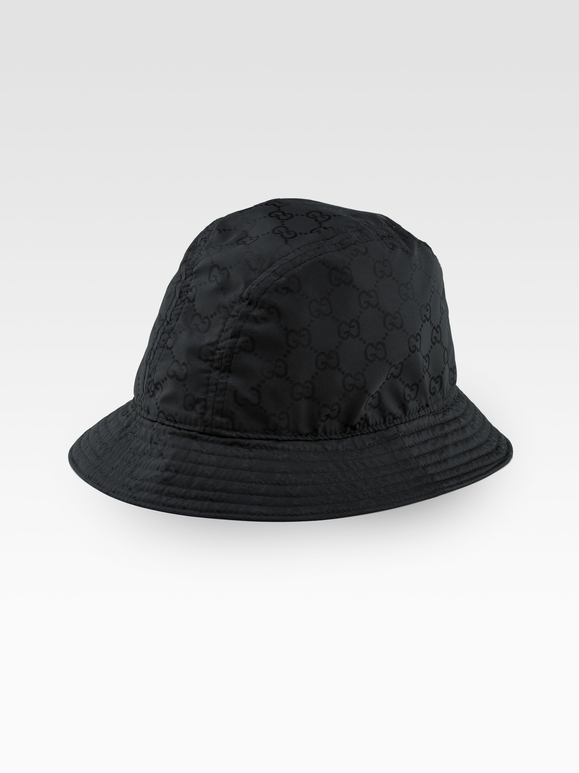 Lyst Gucci Gg Fedora Hat In Black For Men